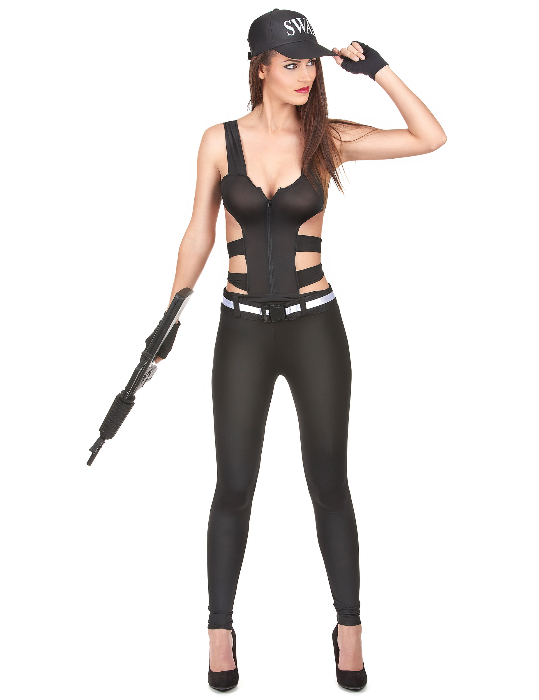 disfraces mujer swat