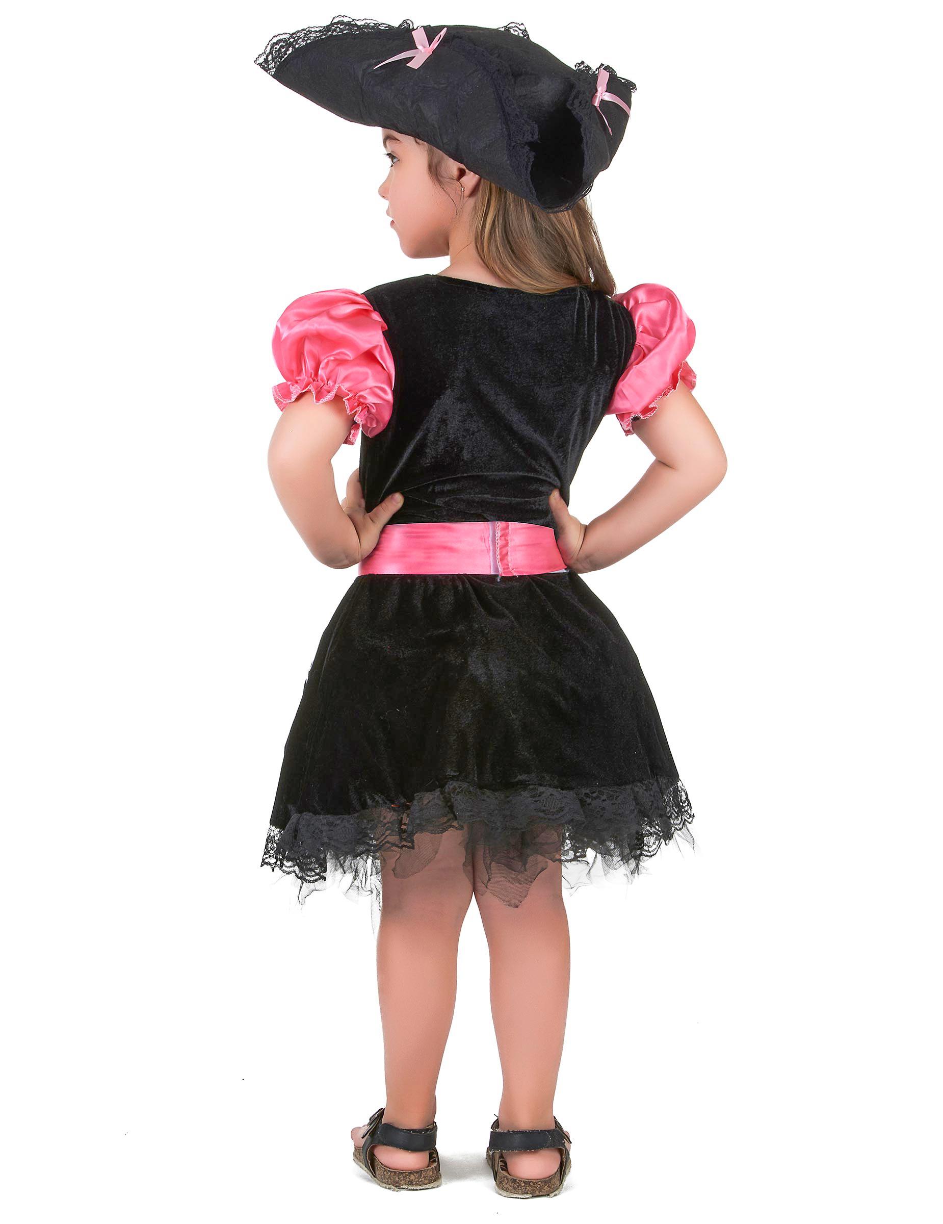 4340bb647 Disfraz pirata niña