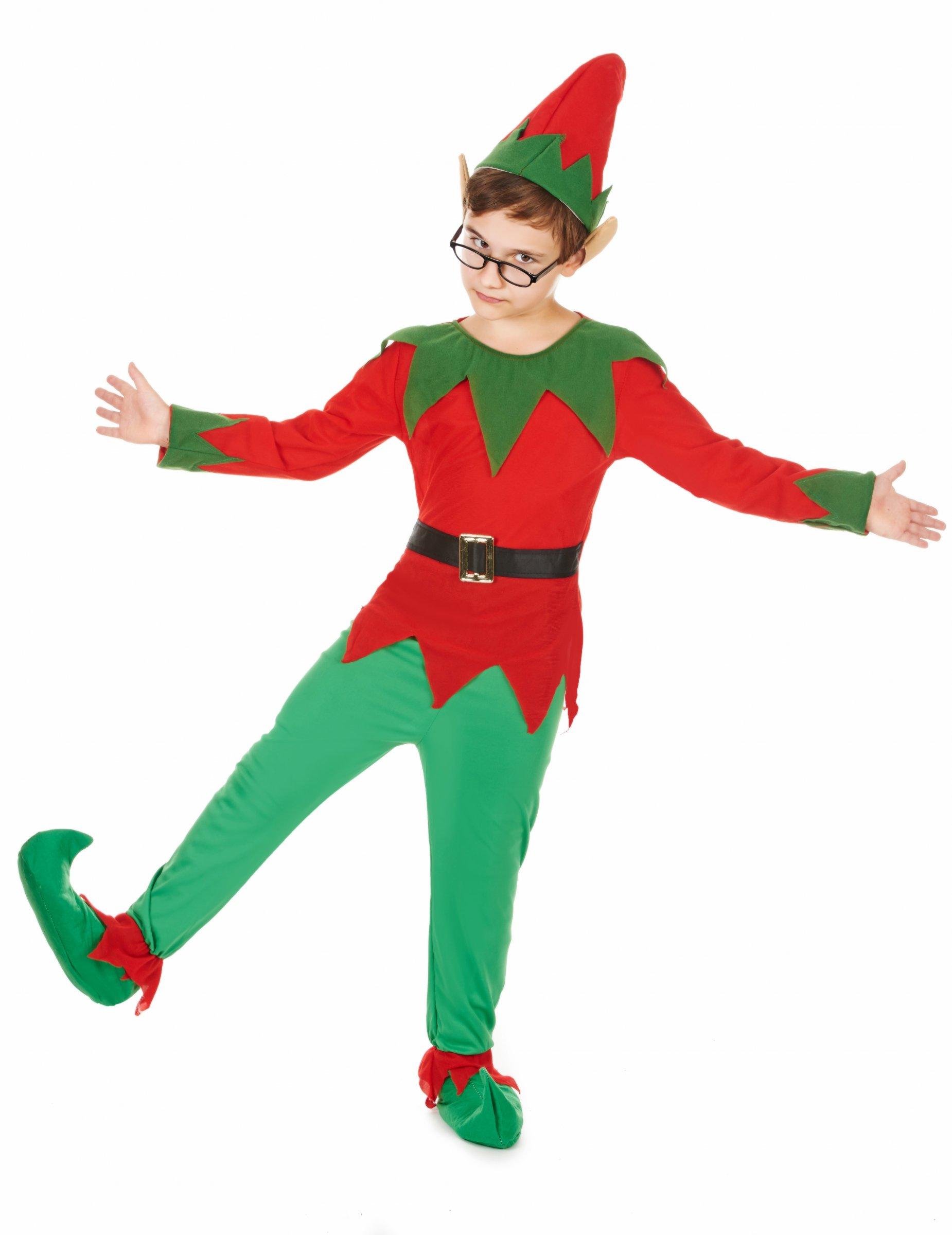 Disfraz elfo ni o disfraces ni os y disfraces originales - Disfraces de duendes navidenos para ninos ...