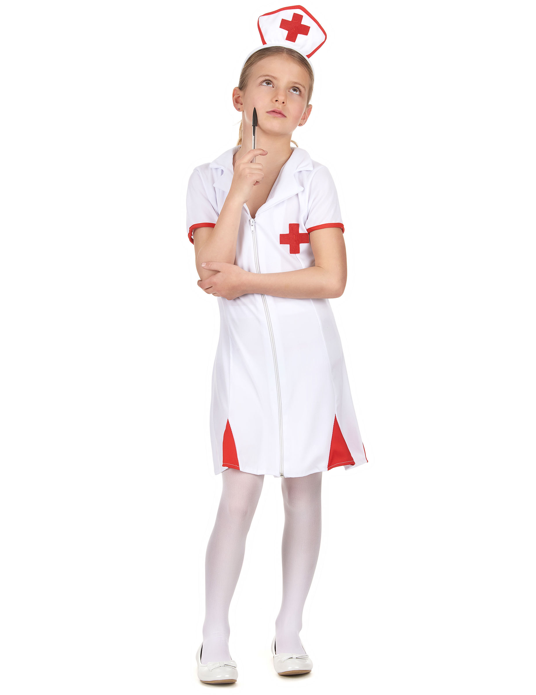 disfraz enfermera nia