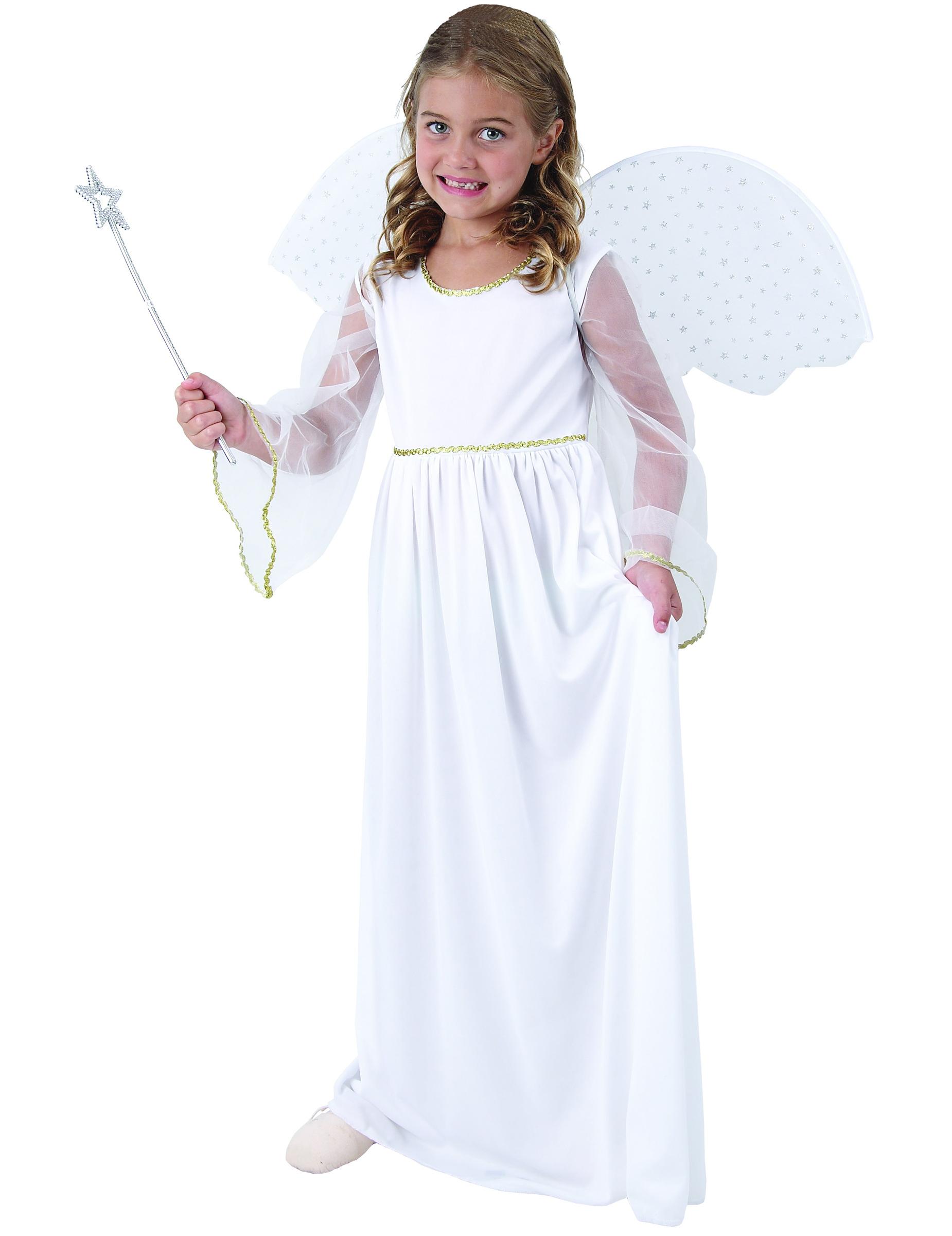 Disfraz ngel blanco ni a disfraces ni os y disfraces - Trajes de angelitos para ninos ...