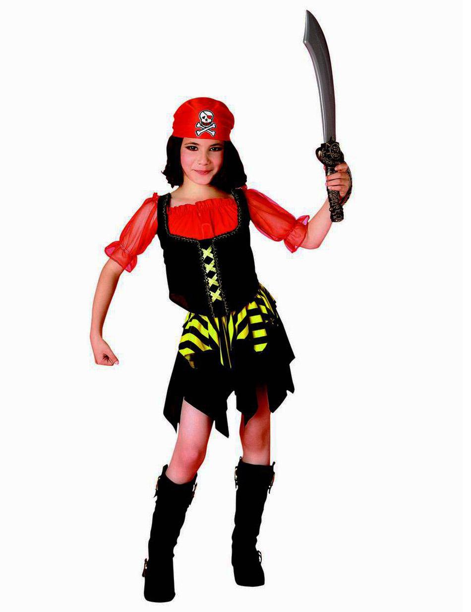 Disfraz de pirata niña: Disfraces niños,y disfraces ...