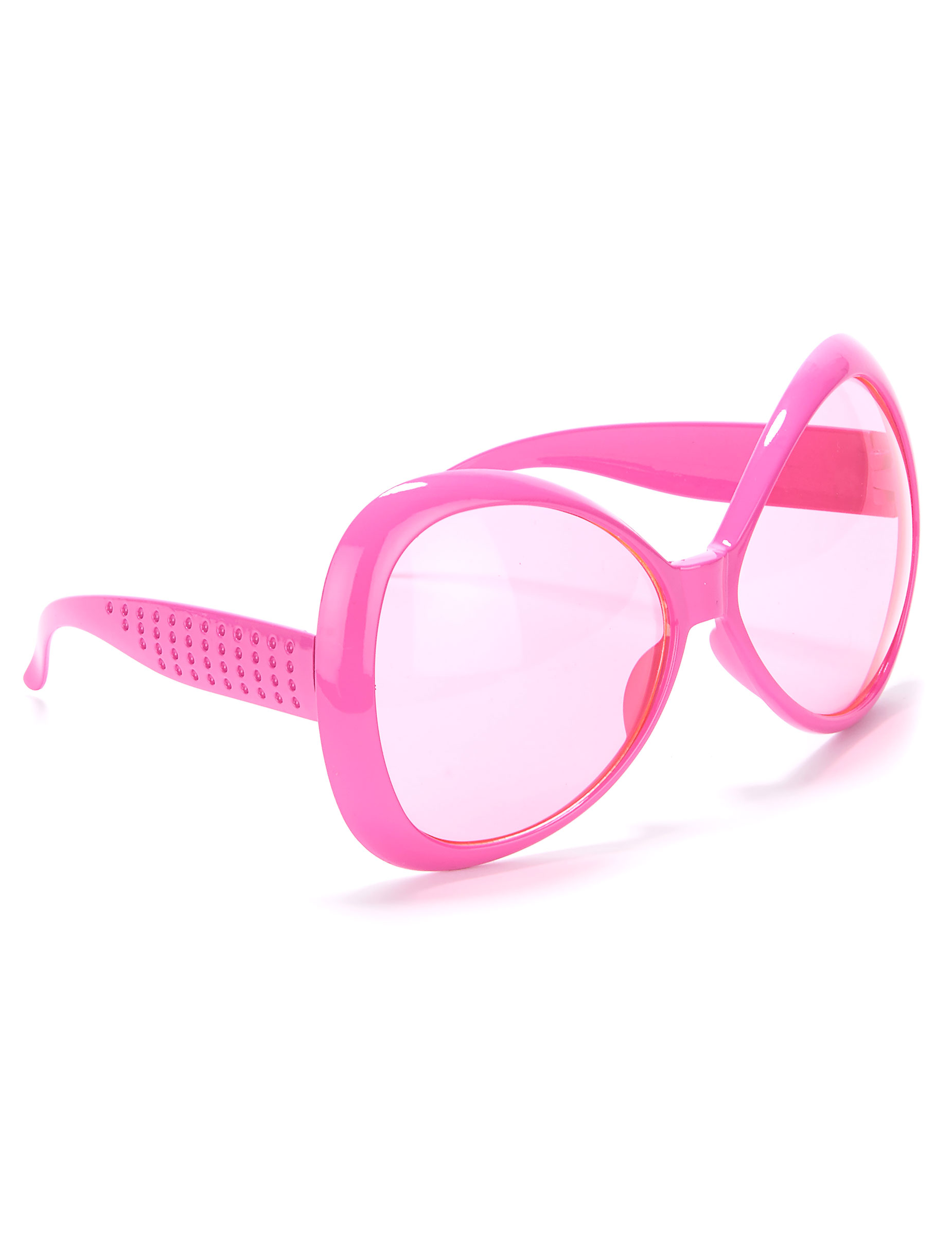 Gafas rosas disco adulto  Accesorios 3d4cebc50247