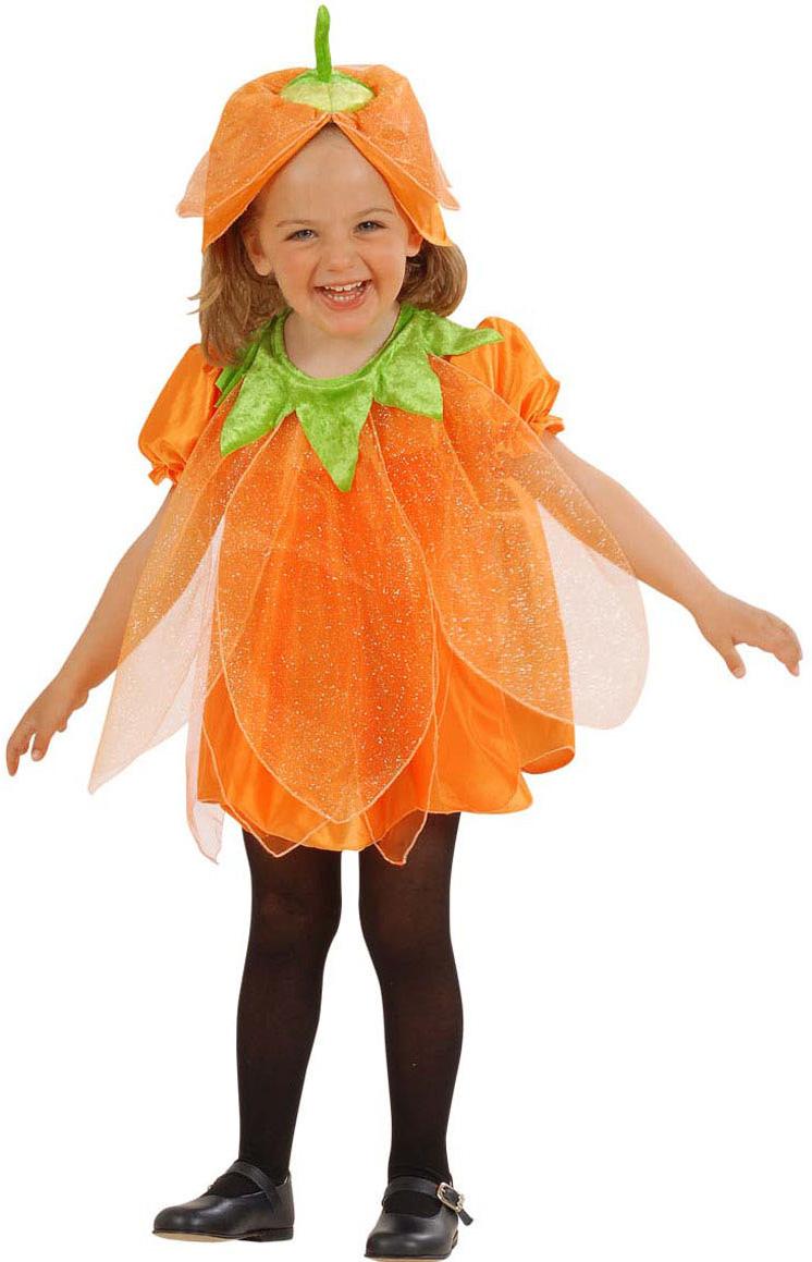 Disfraz calabaza con brillantinas ni o halloween - Calabazas halloween originales para ninos ...