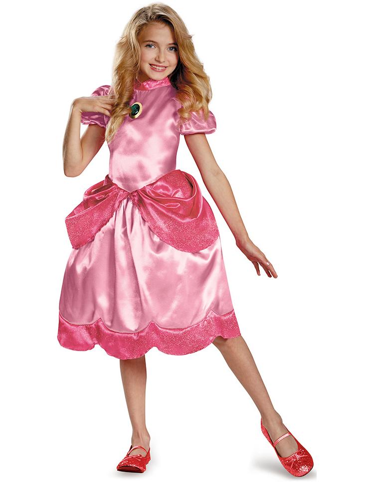 Disfraz Princesa Peach™ niña : Disfraces niños,y disfraces ...