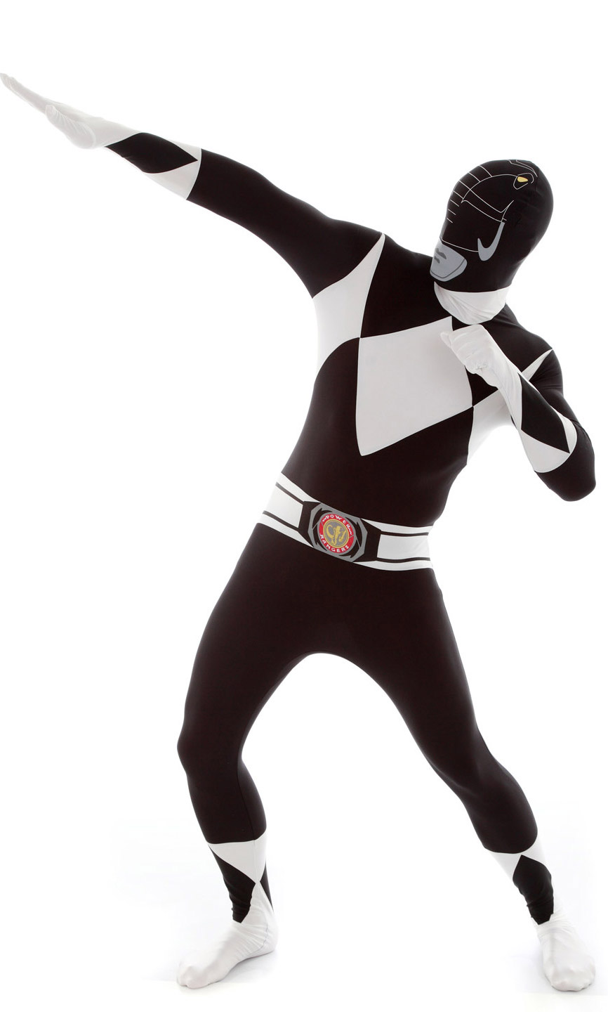 Disfraz Morphsuits™ Power Rangers™ negro adulto: Disfraces adultos,y ...