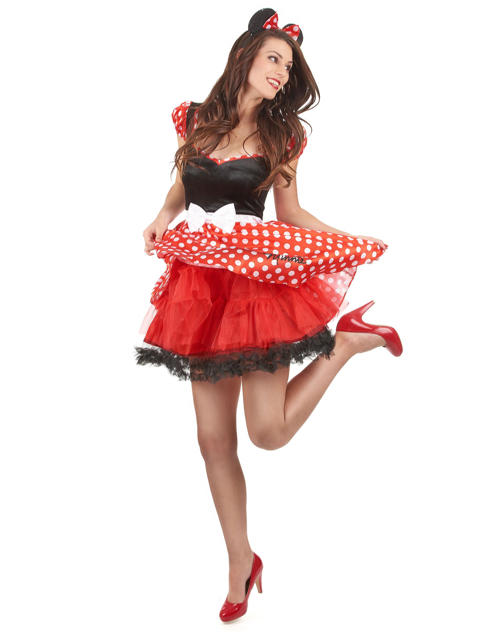 Disfraz Sassy Minnie™ adulto: Disfraces adultos,y ...