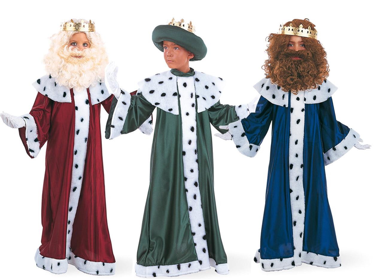 disfraces de los 3 reyes magos