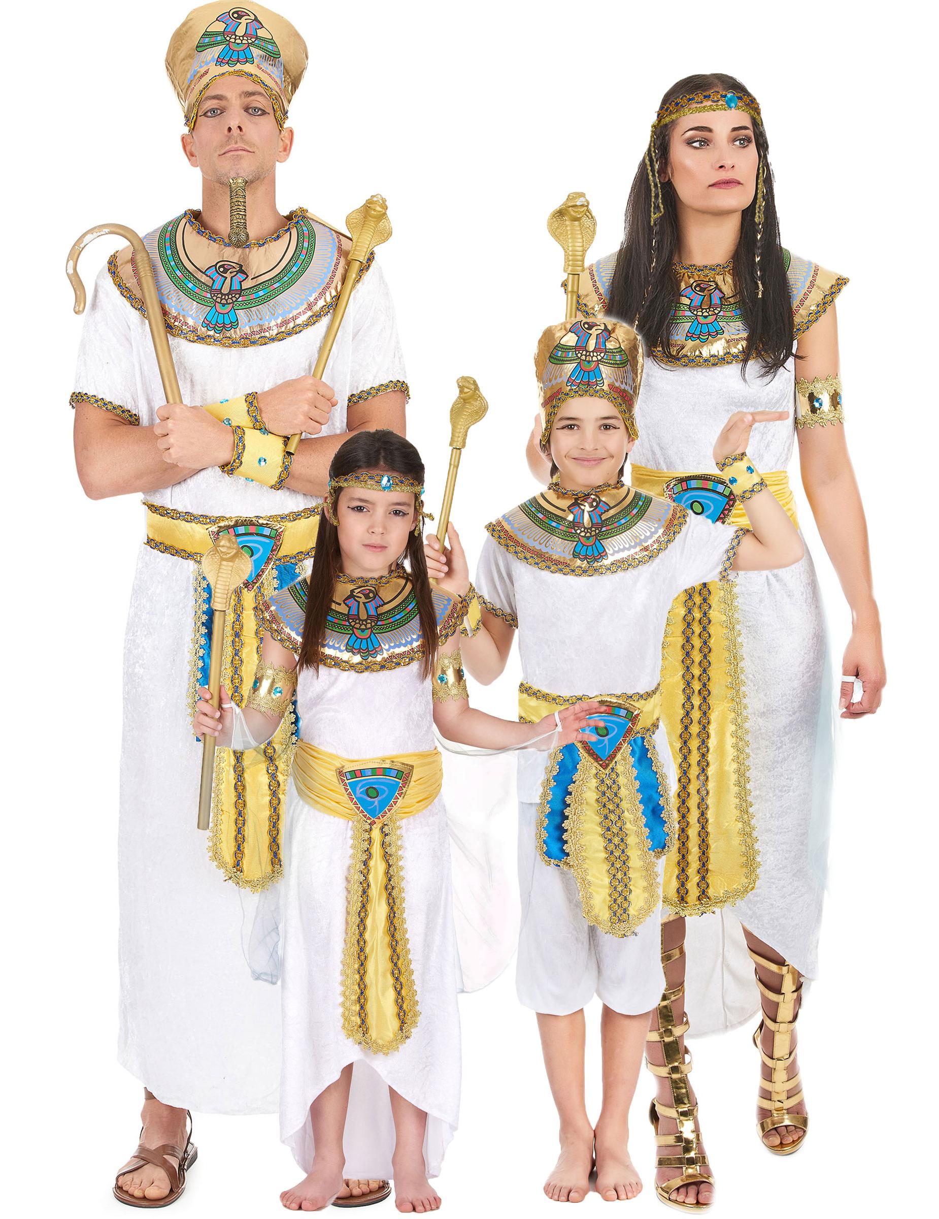 Disfraz familia egipcios disfraces parejas y disfraces - Trajes de carnaval de epoca ...