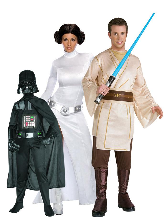 disfraz familia star wars