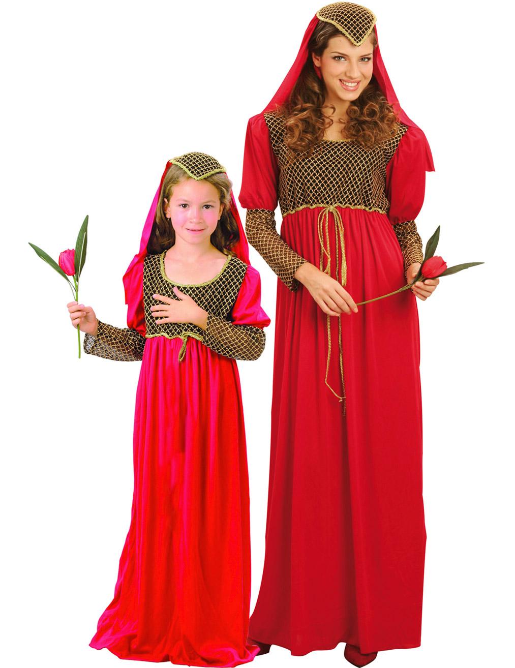 Disfraz Pareja Julieta Madre E Hija Disfraces Parejasy Disfraces