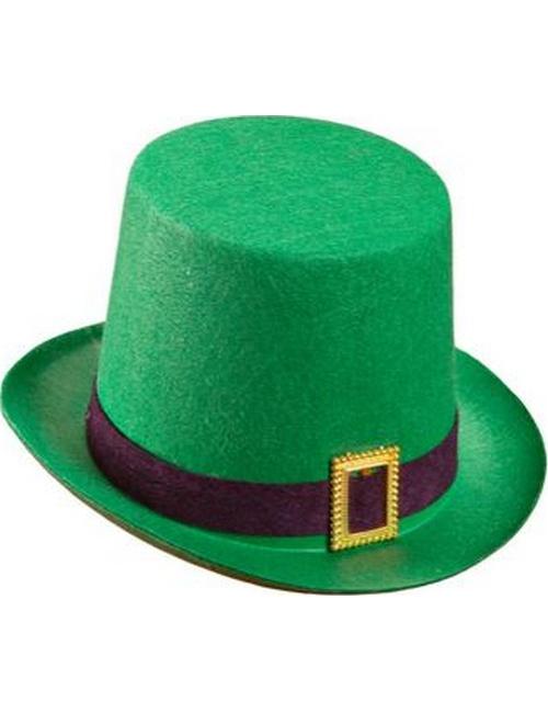 Sombrero de copa verde San Patricio  Sombreros dcbc1d17cae