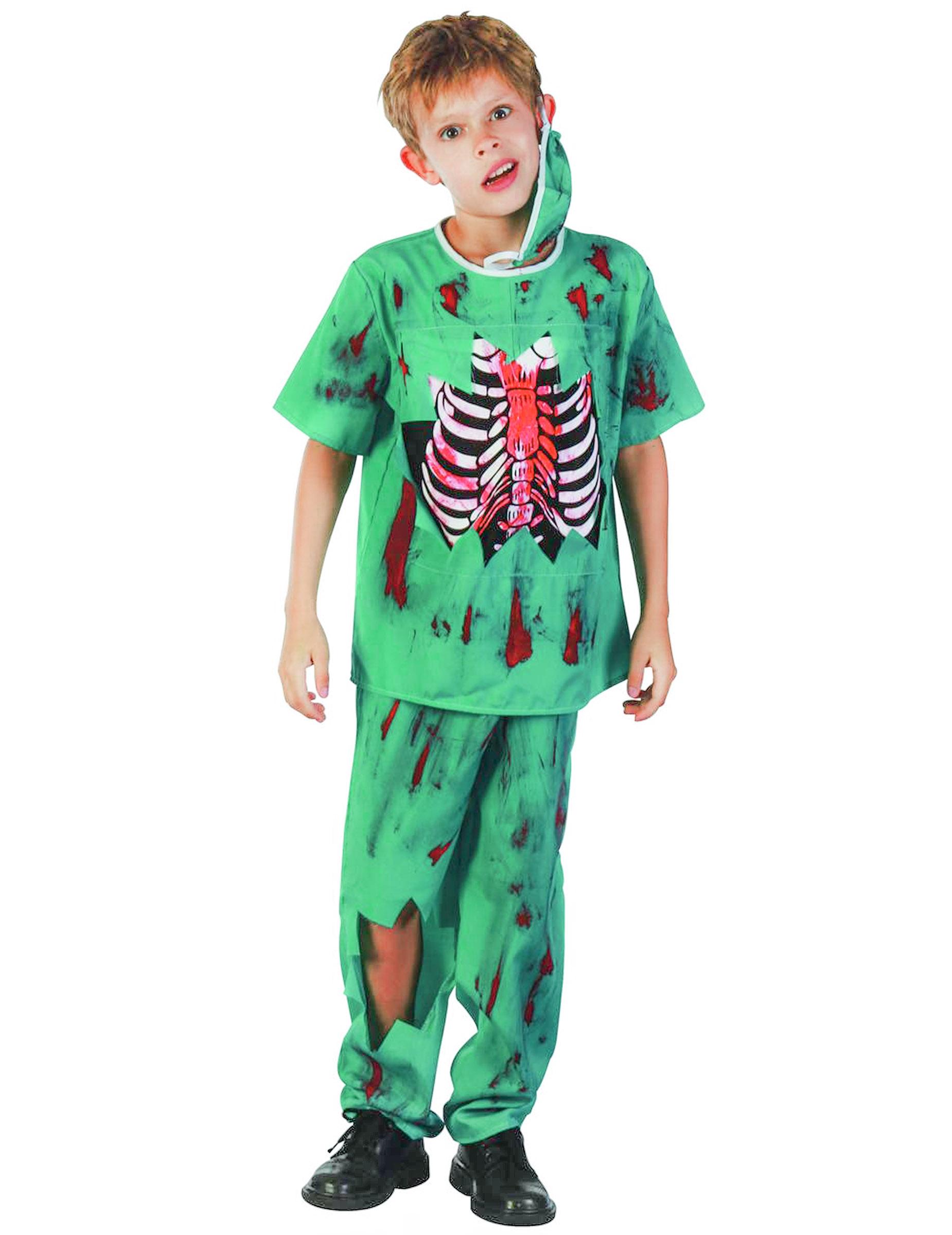 foto de Disfraz de doctor zombie niño