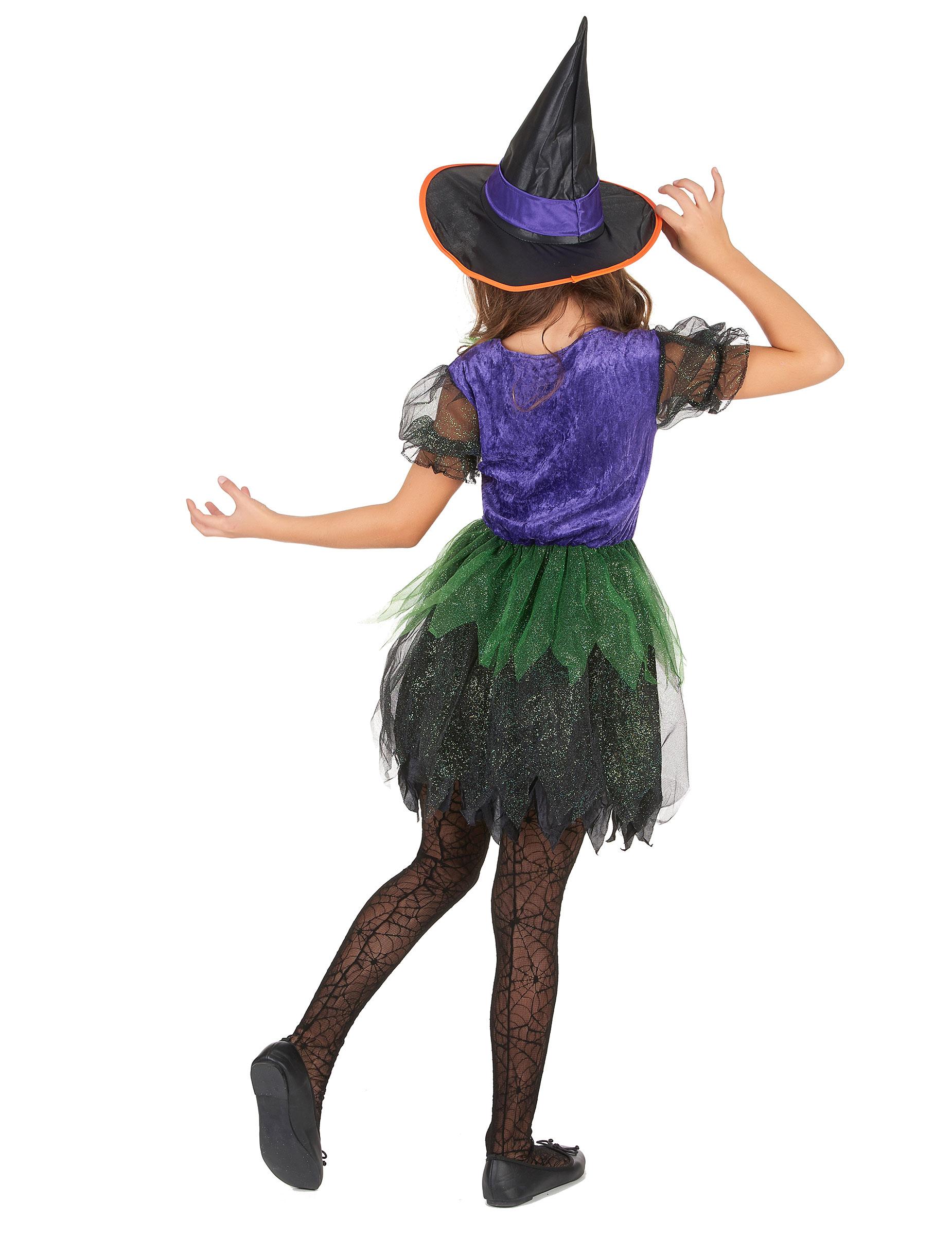 Disfraz bruja colores niña: Disfraces niños,y disfraces originales ...