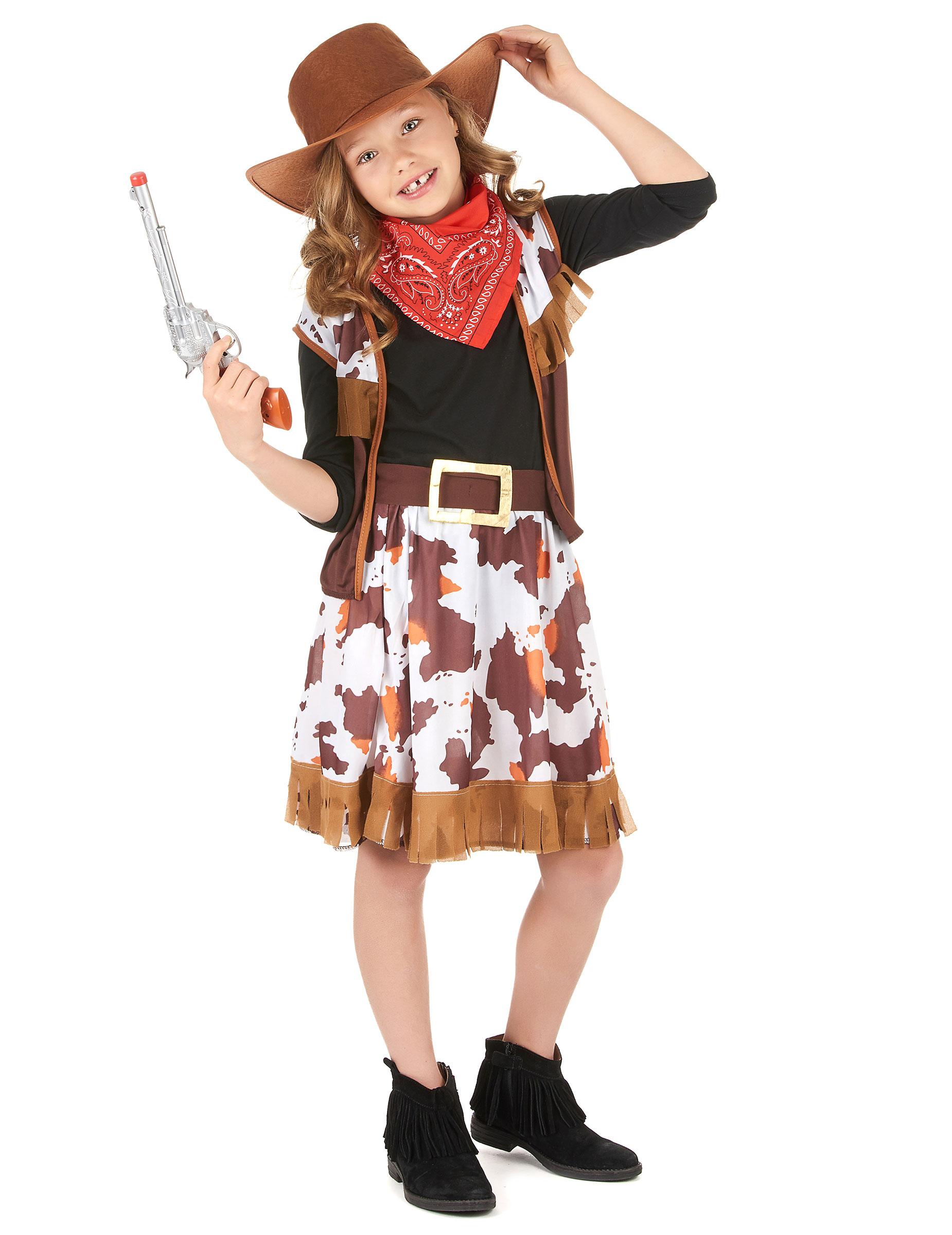 0d2701abcf078 Disfraz vaquera niña  Disfraces niños