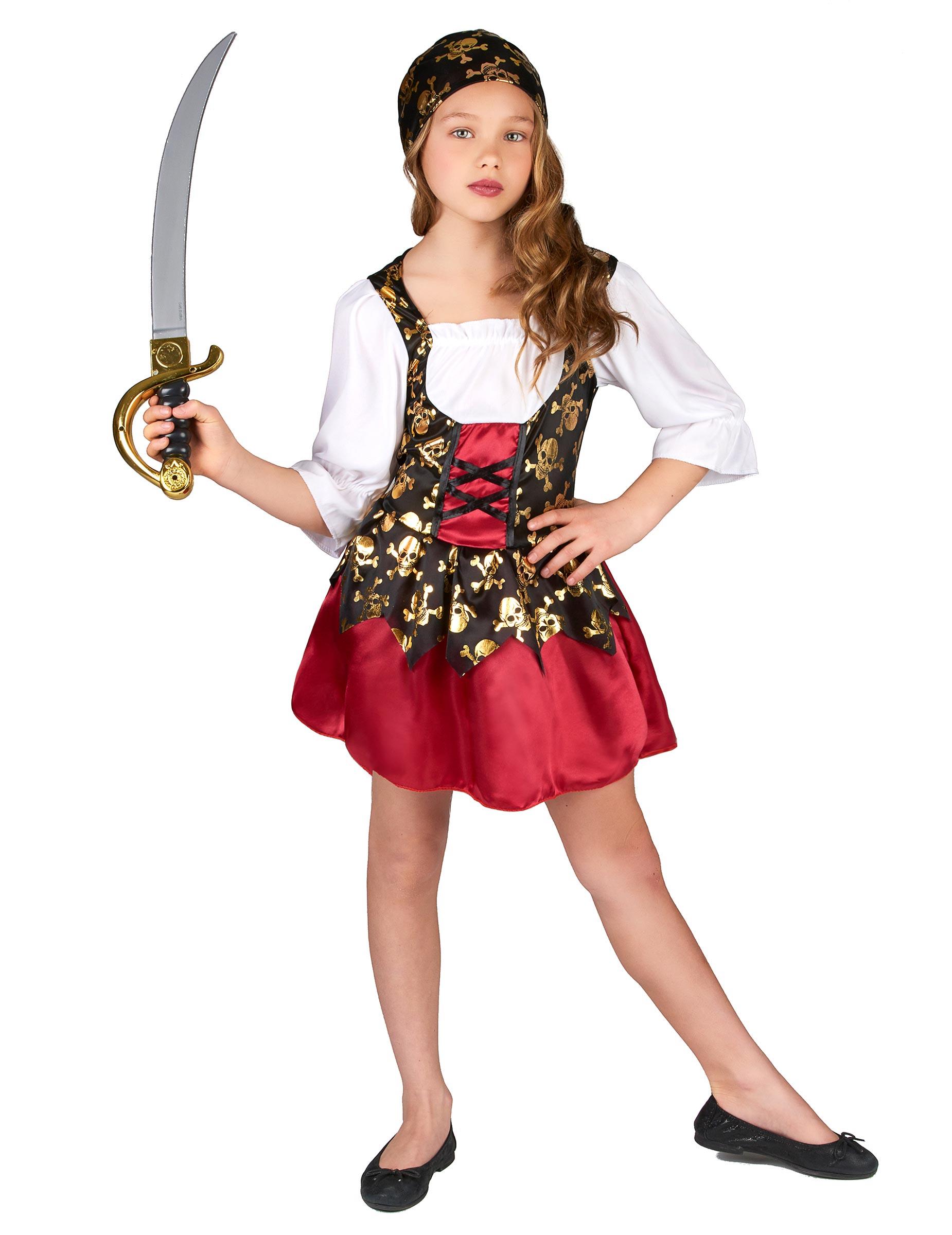 Disfraz pirata ni a - Maquillaje pirata nina ...