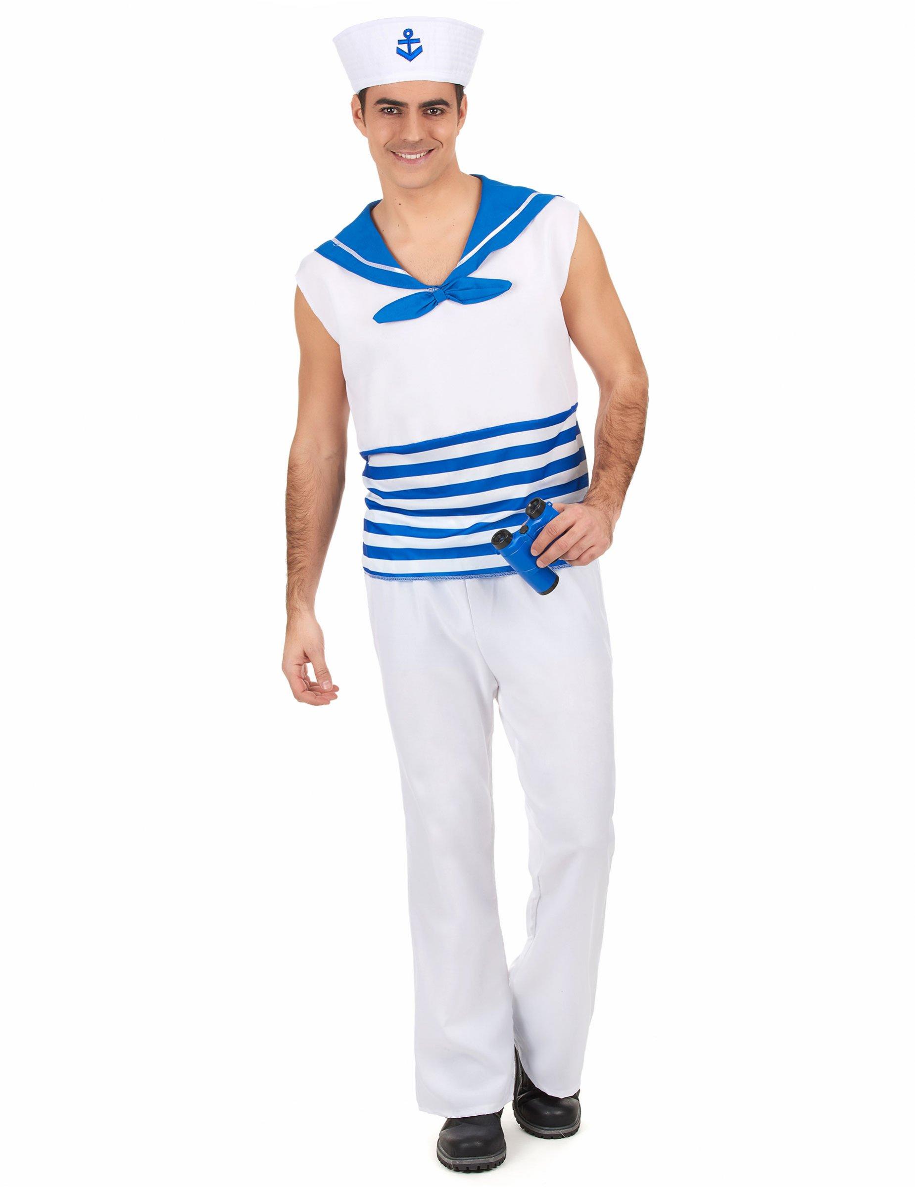 Disfraz marinero hombre - Disfraz de marinero casero ...