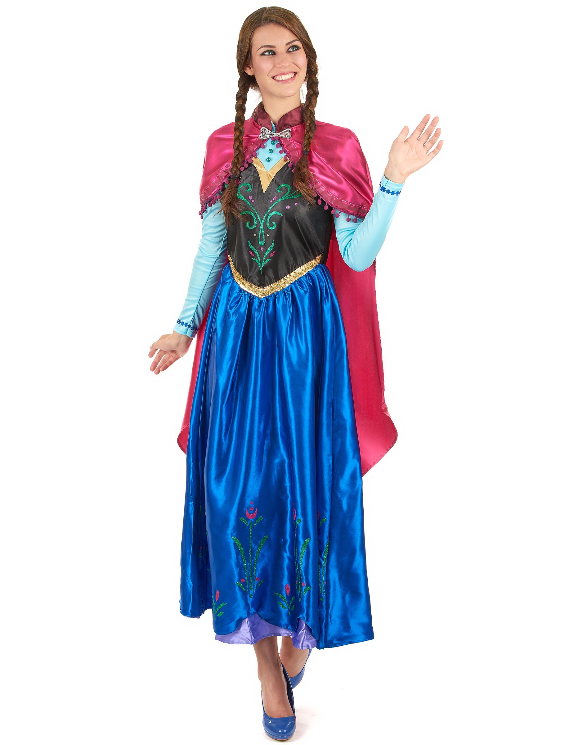 Disfraz anna frozen adulto disfraces adultos y disfraces for Disfraces baratos