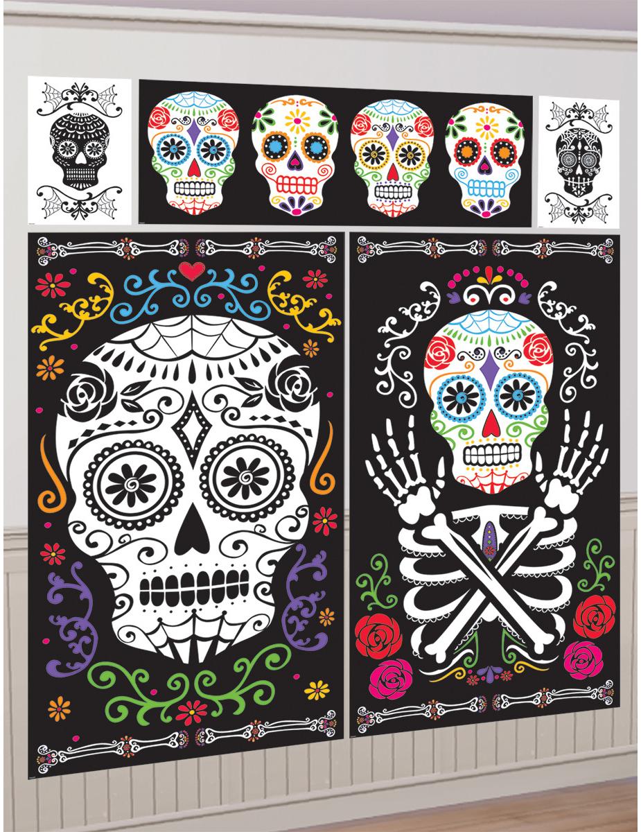 5 decoraciones murales d a de los muertos decoraci n y for Decoracion de puertas de dia de muertos