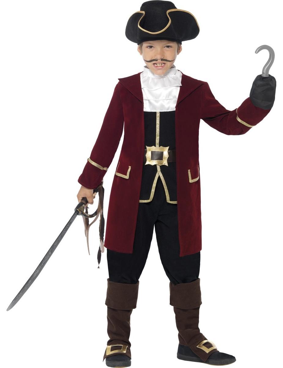 Disfraz capitán pirata niño  Disfraces niños 4ac6a8f59e5