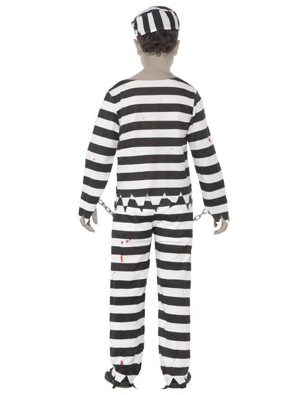 Disfraz zombie preso niño Halloween: Disfraces niños,y disfraces originales baratos - Vegaoo