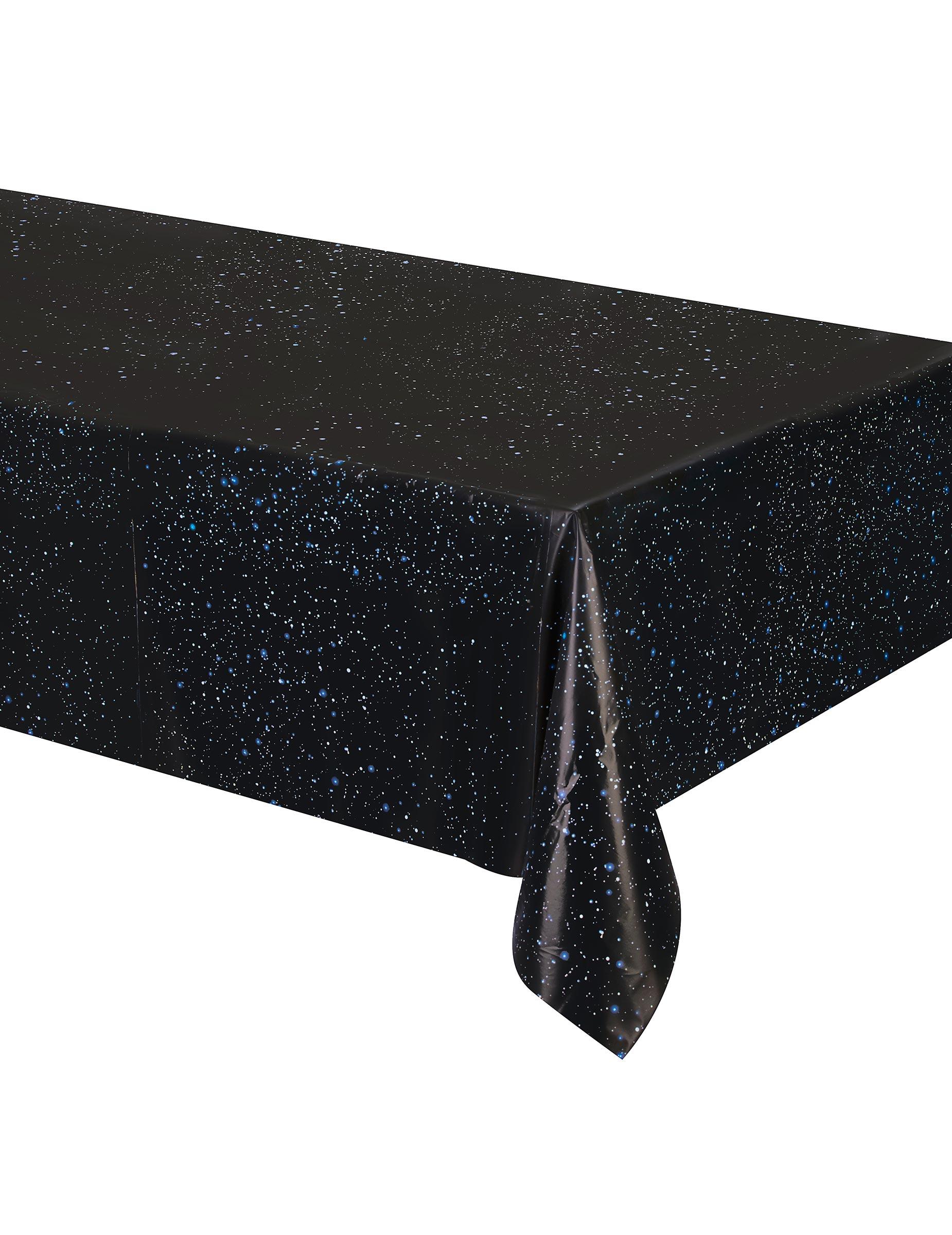 Mantel pl stico cumplea os espacio 137x274 cm decoraci n y disfraces originales baratos vegaoo - Mantel plastico ...