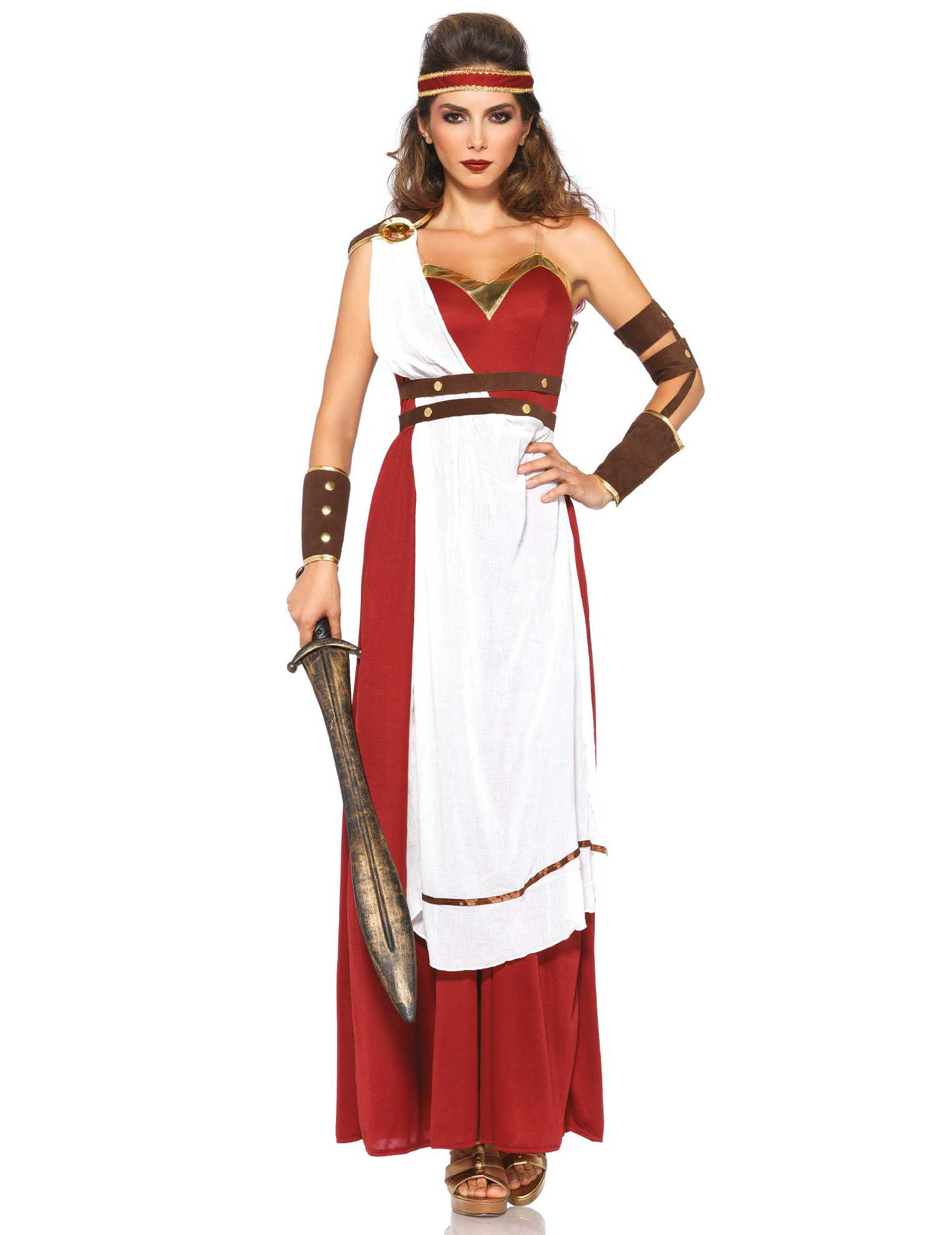 c6cd94974 Disfraz guerrera romana para mujer