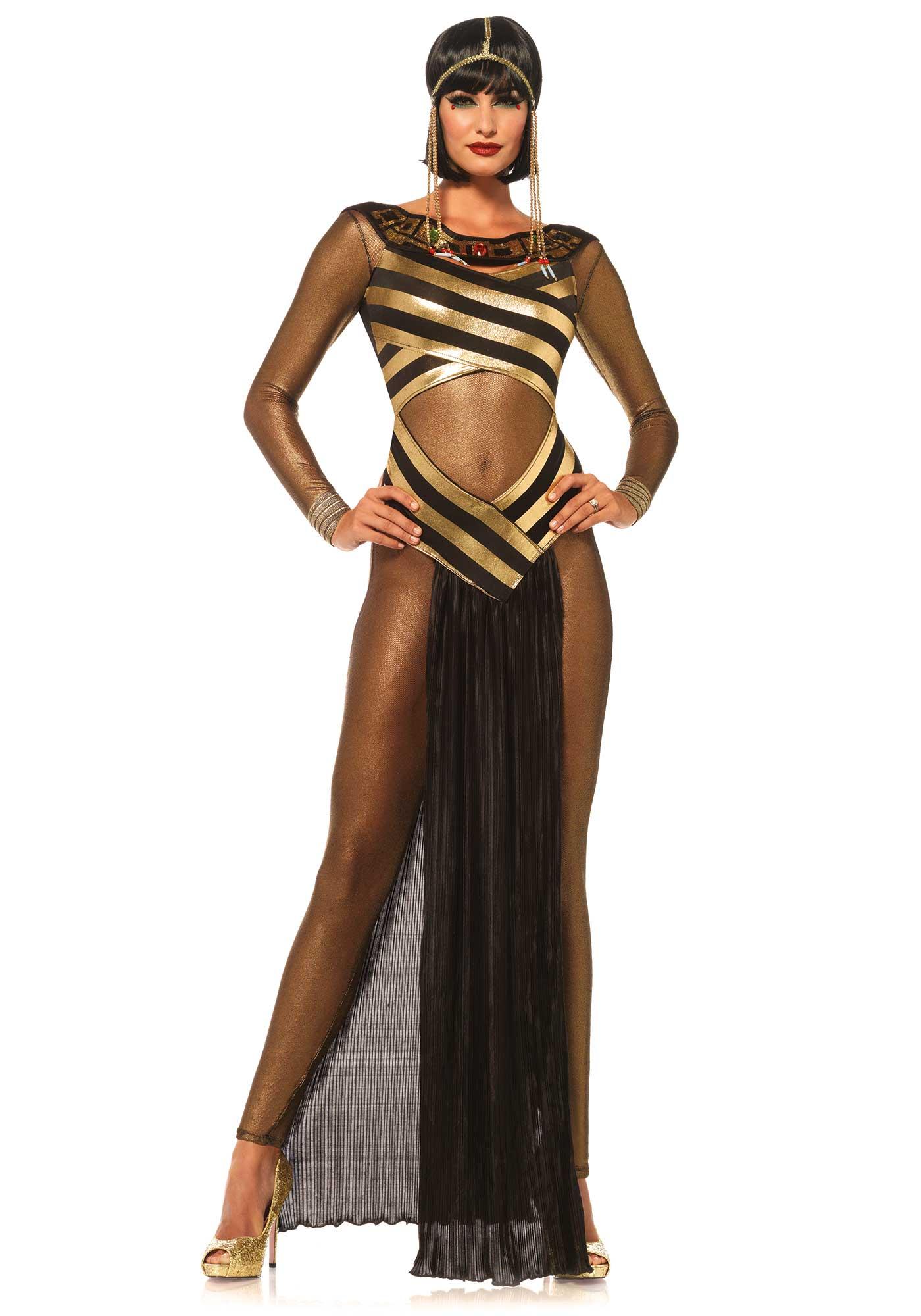 Como hacer vestidos egipcios de mujer