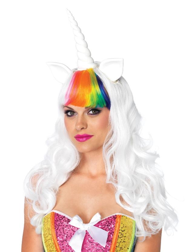 Kit unicornio  Pelucas 7e0e149d84c5