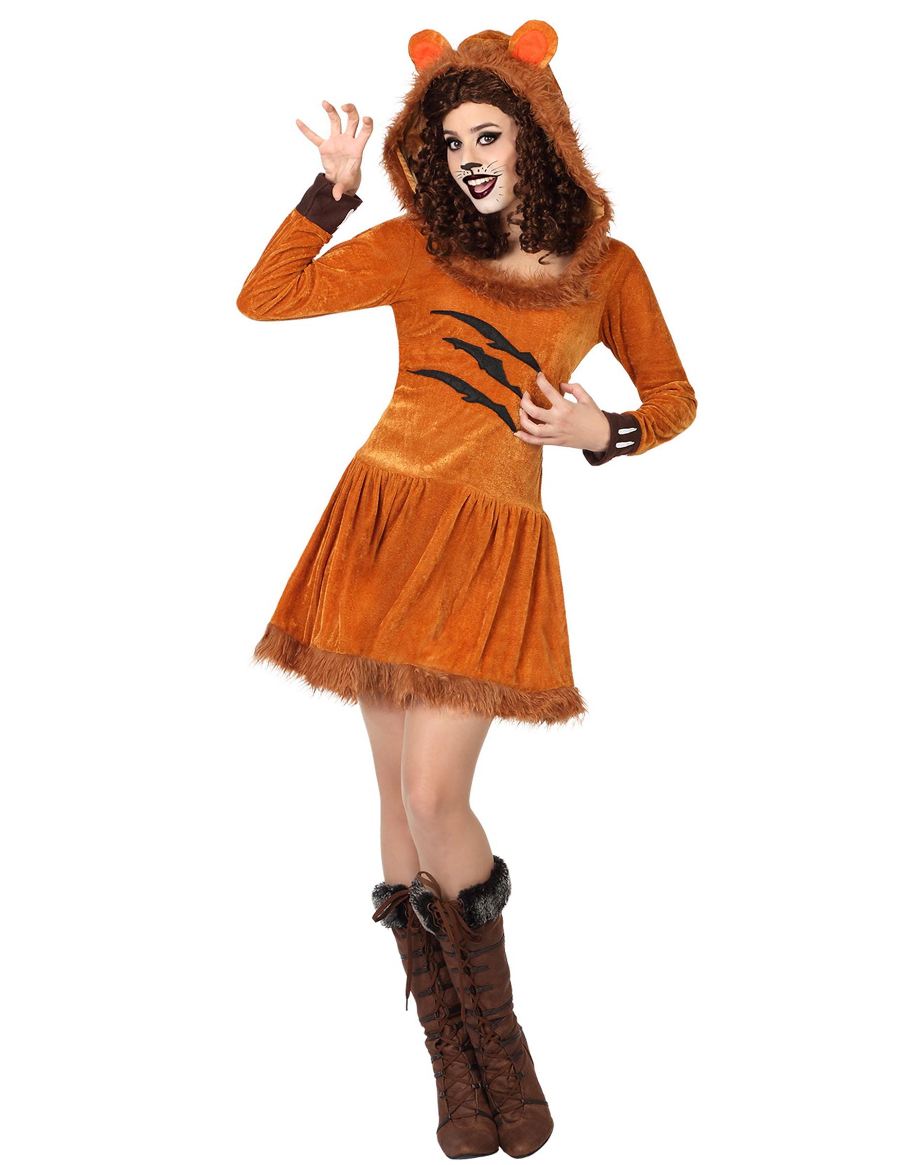 disfraz le243n mujer disfraces adultosy disfraces