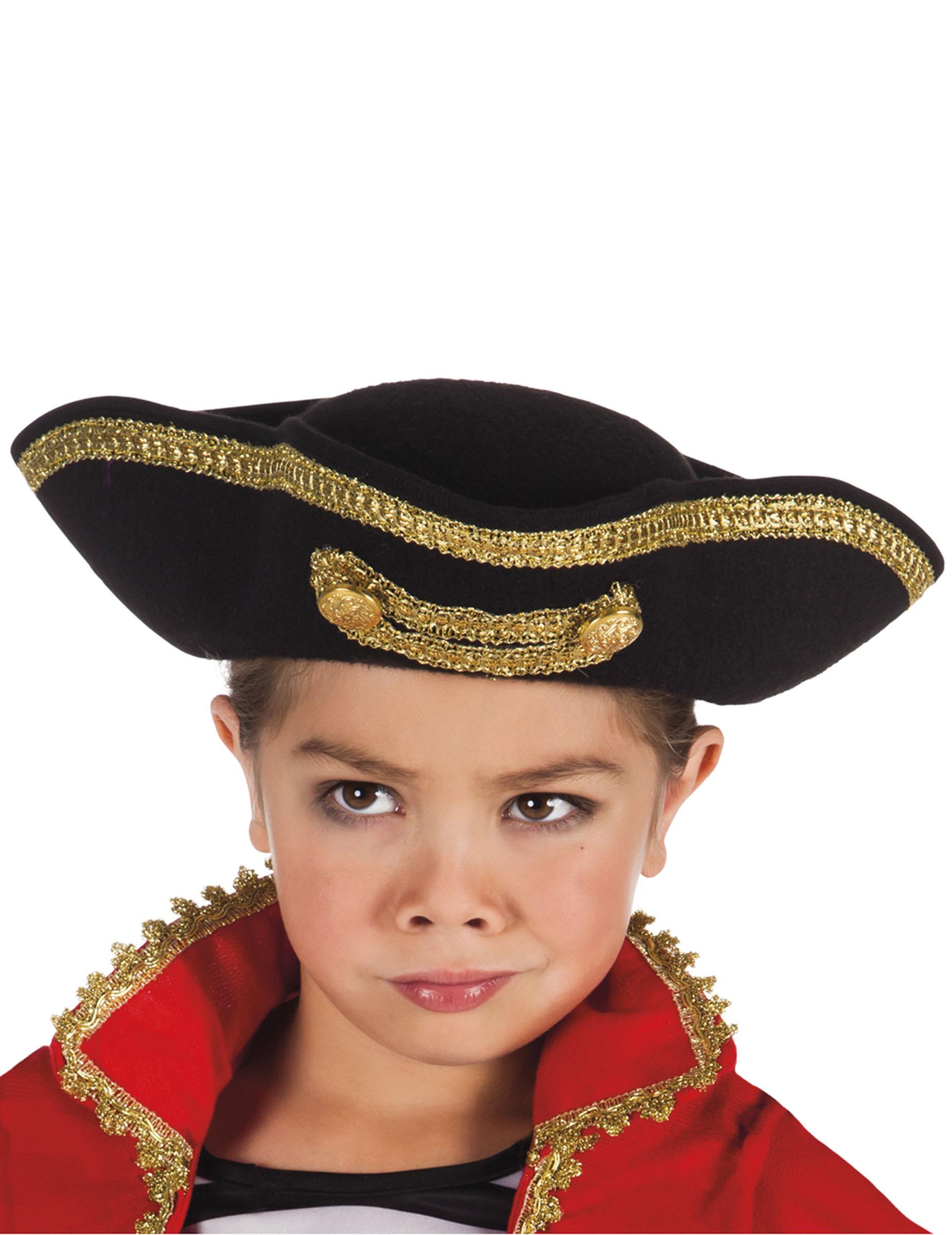 Sombrero capitán pirata niño  Sombreros 931e1955b1a