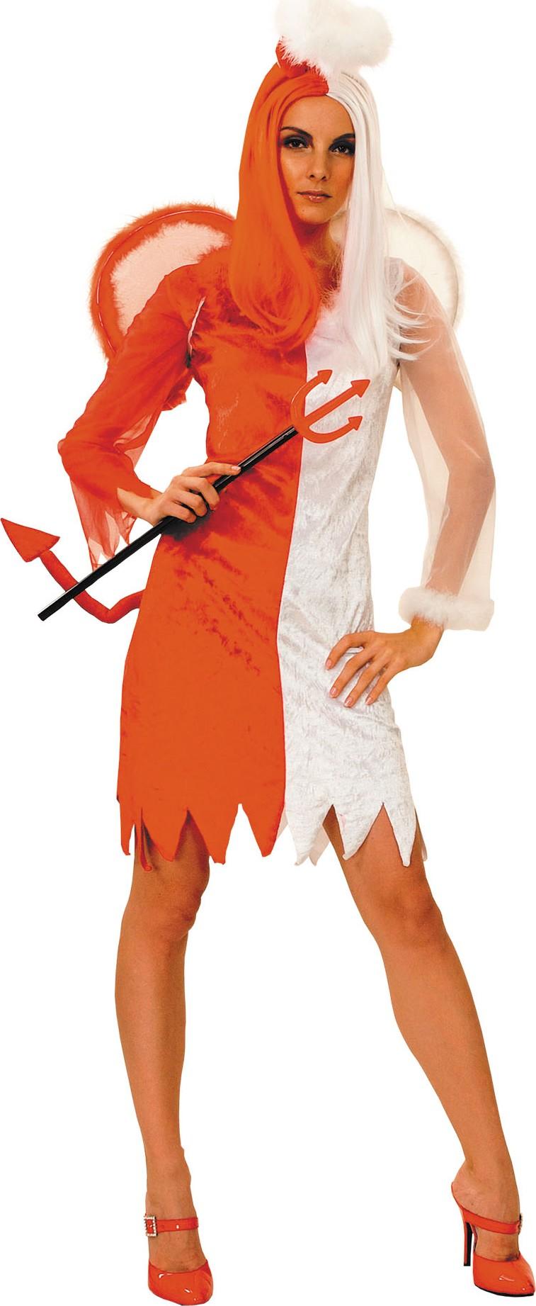 Disfraz de Halloween Sexy diablo rojo para 10-14: