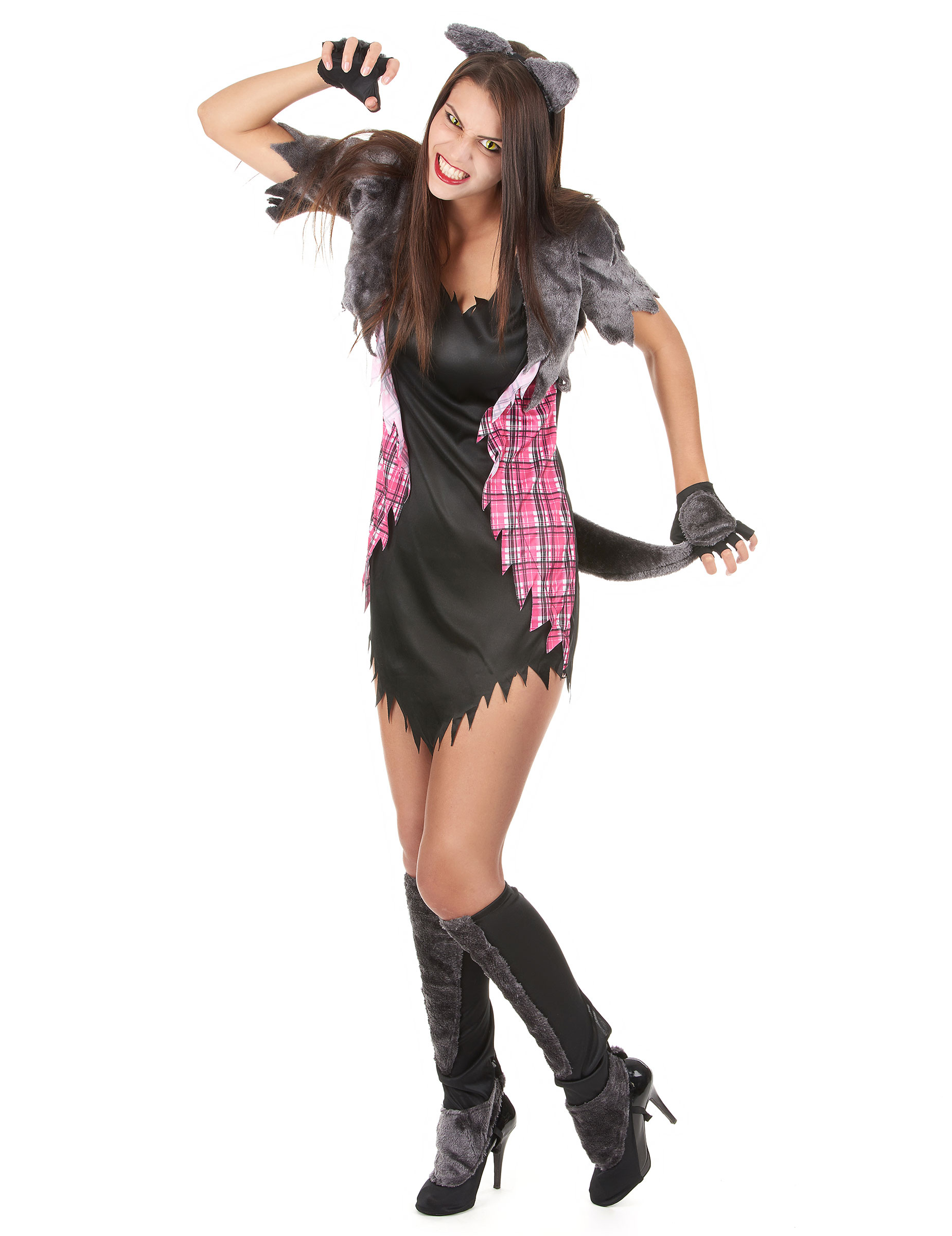 What Is Voodoo >> Disfraz Halloween hombre lobo sexy mujer: Disfraces ...