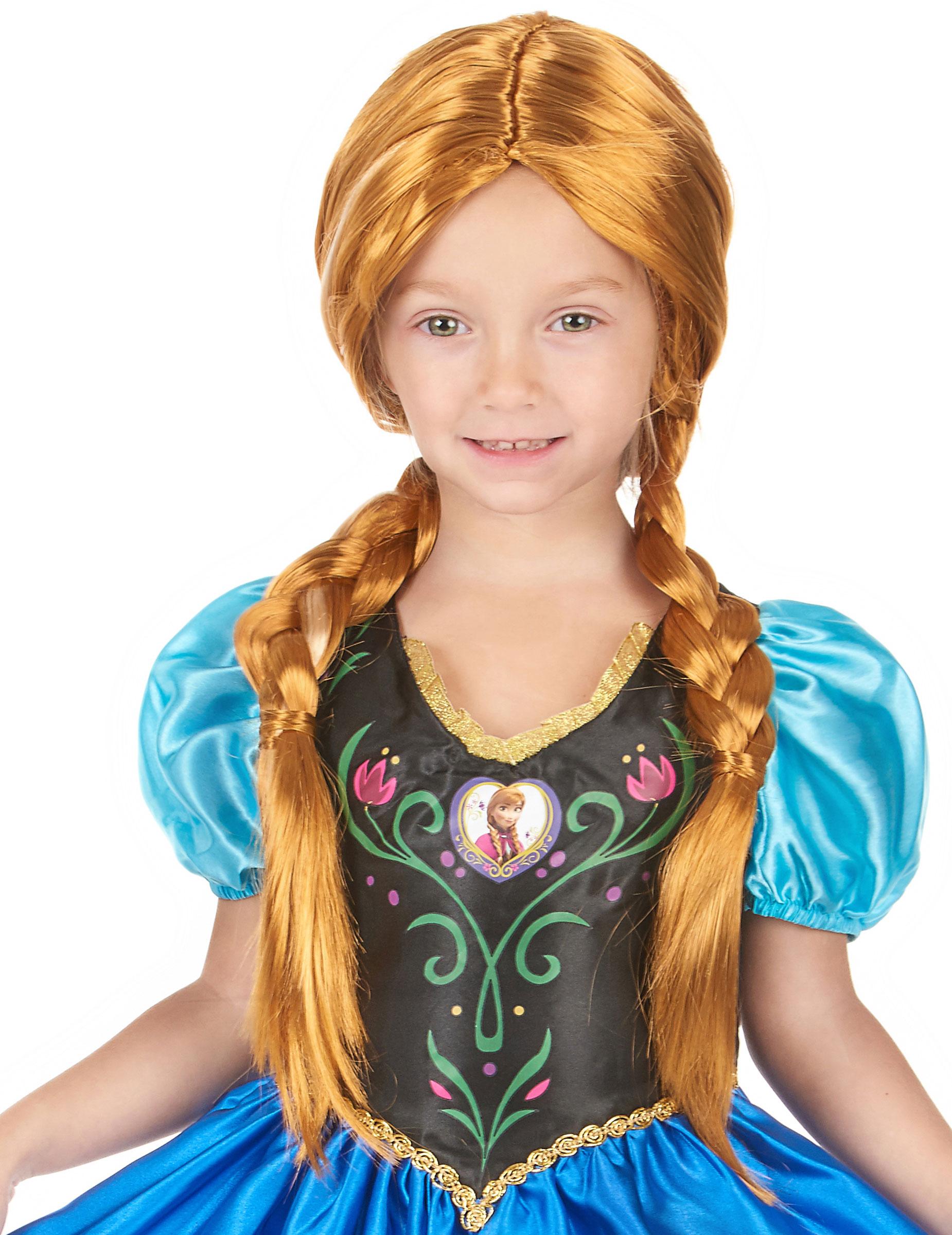 Peluca Anna Frozen Pelucas Y Disfraces Originales