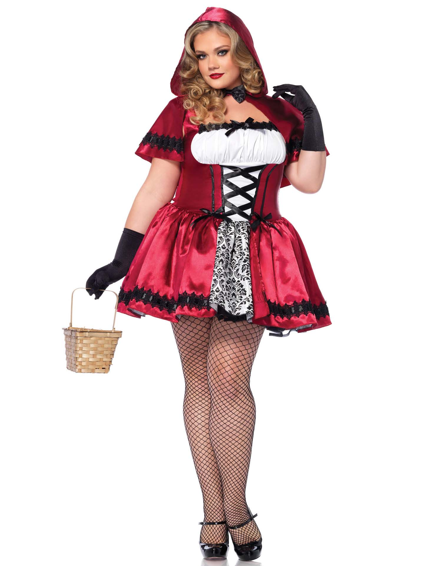 Disfraz Caperucita Roja Mujer Talla Grande Disfraces Adultos Y Disfraces Originales Baratos Vegaoo