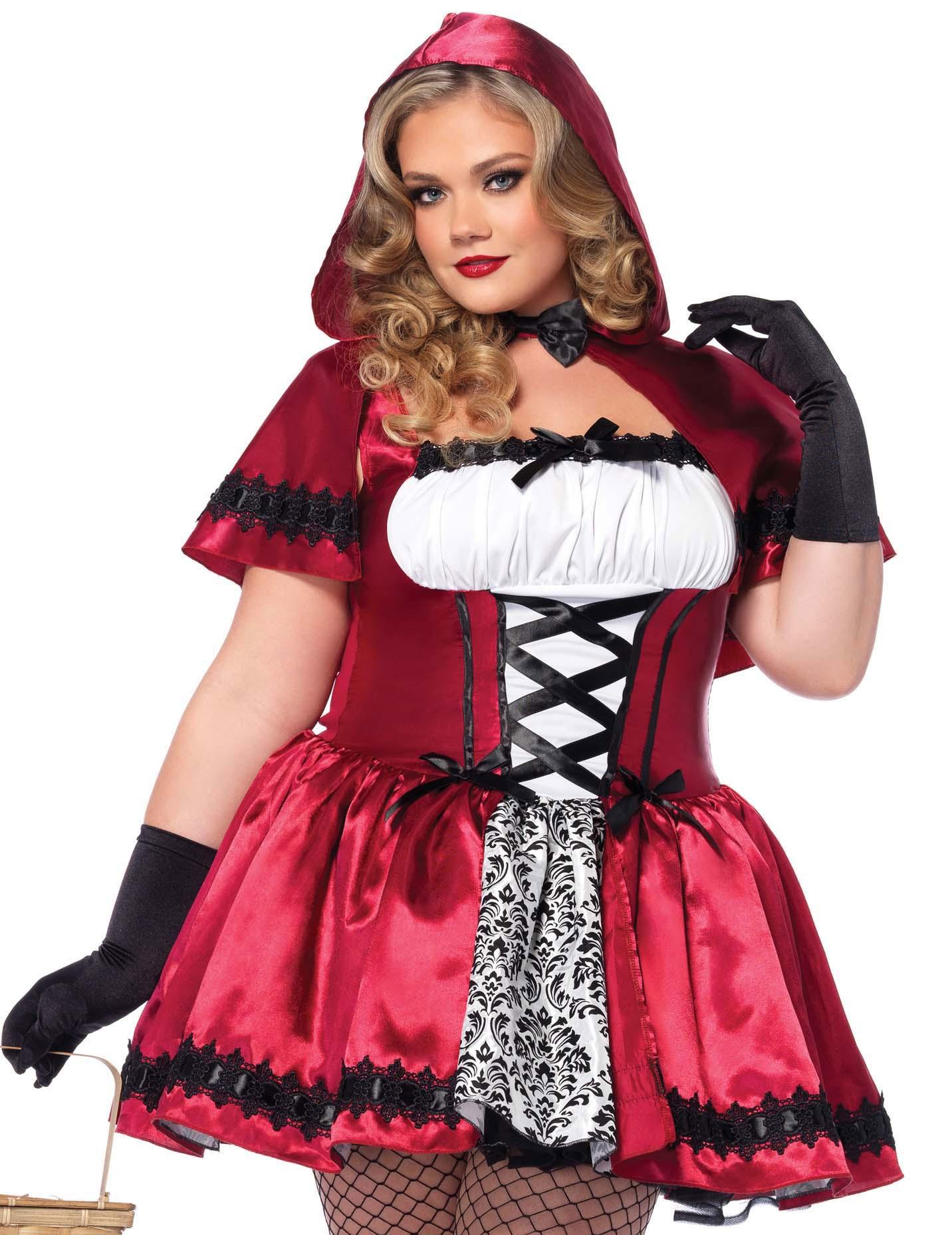 Disfraz Caperucita Roja Mujer Talla Grande Disfraces Adultos Y