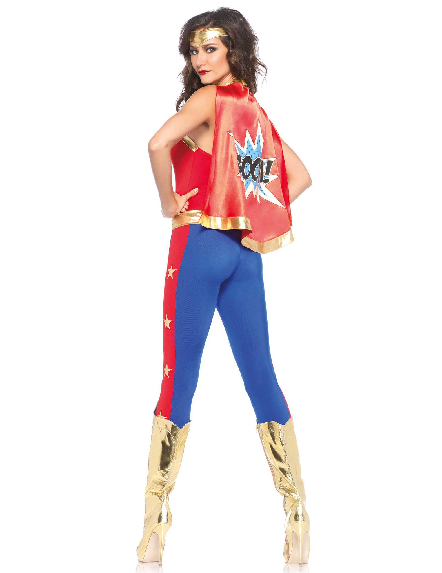 disfraz superherona mujer