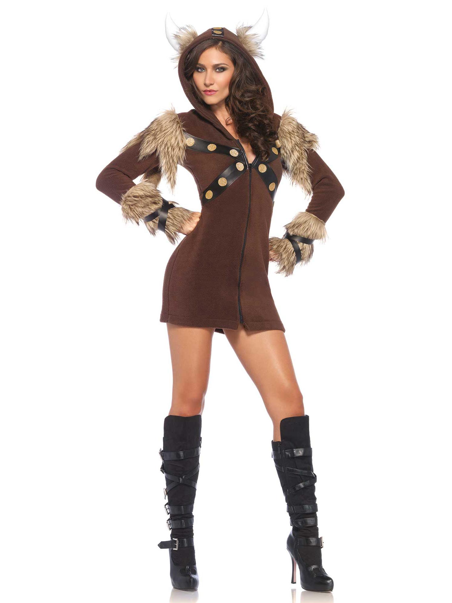 Disfraz vikingo mujer disfraces adultos y disfraces for Disfraces baratos