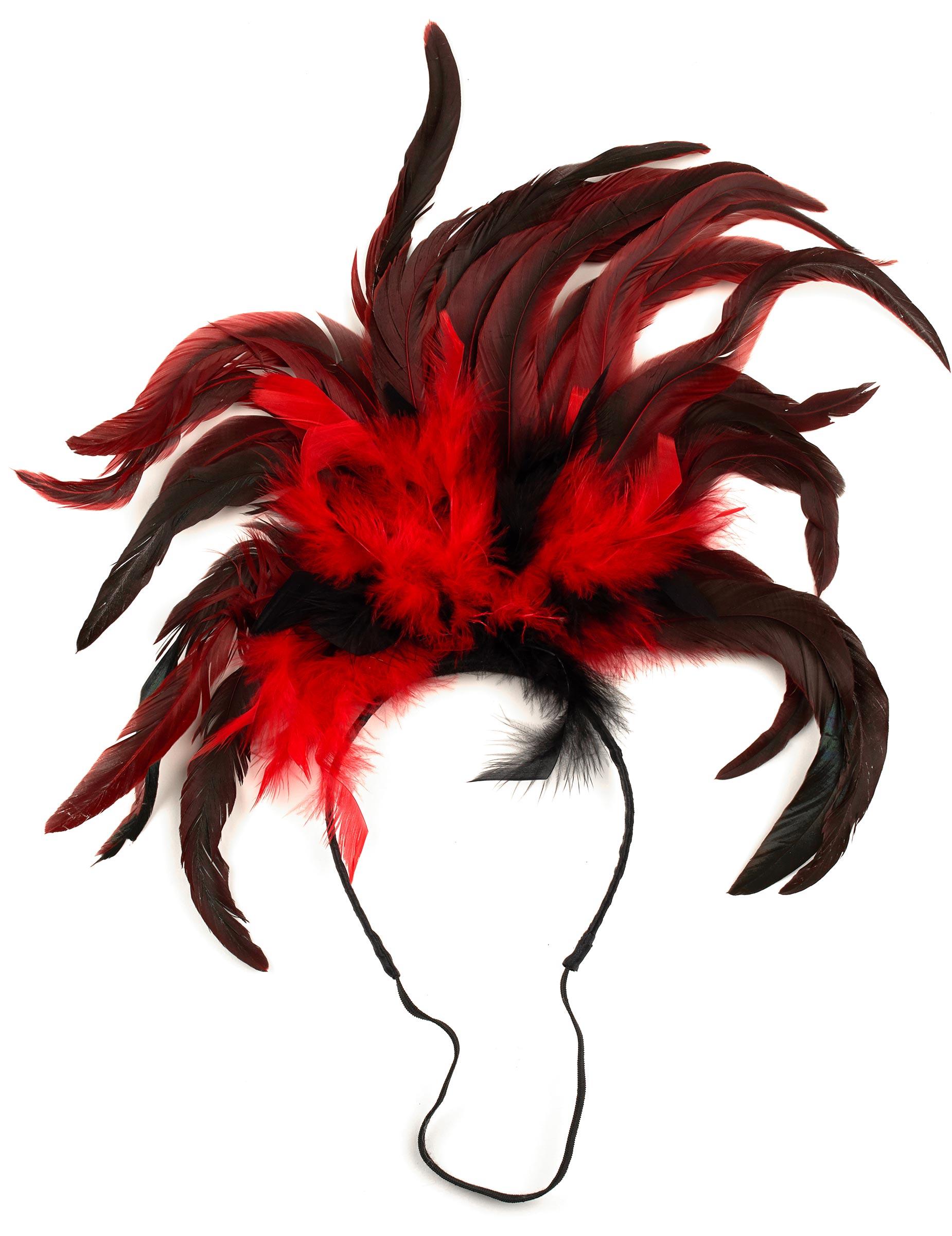 Diadema cabaret plumas adulto  Accesorios 47cf2ace7cd