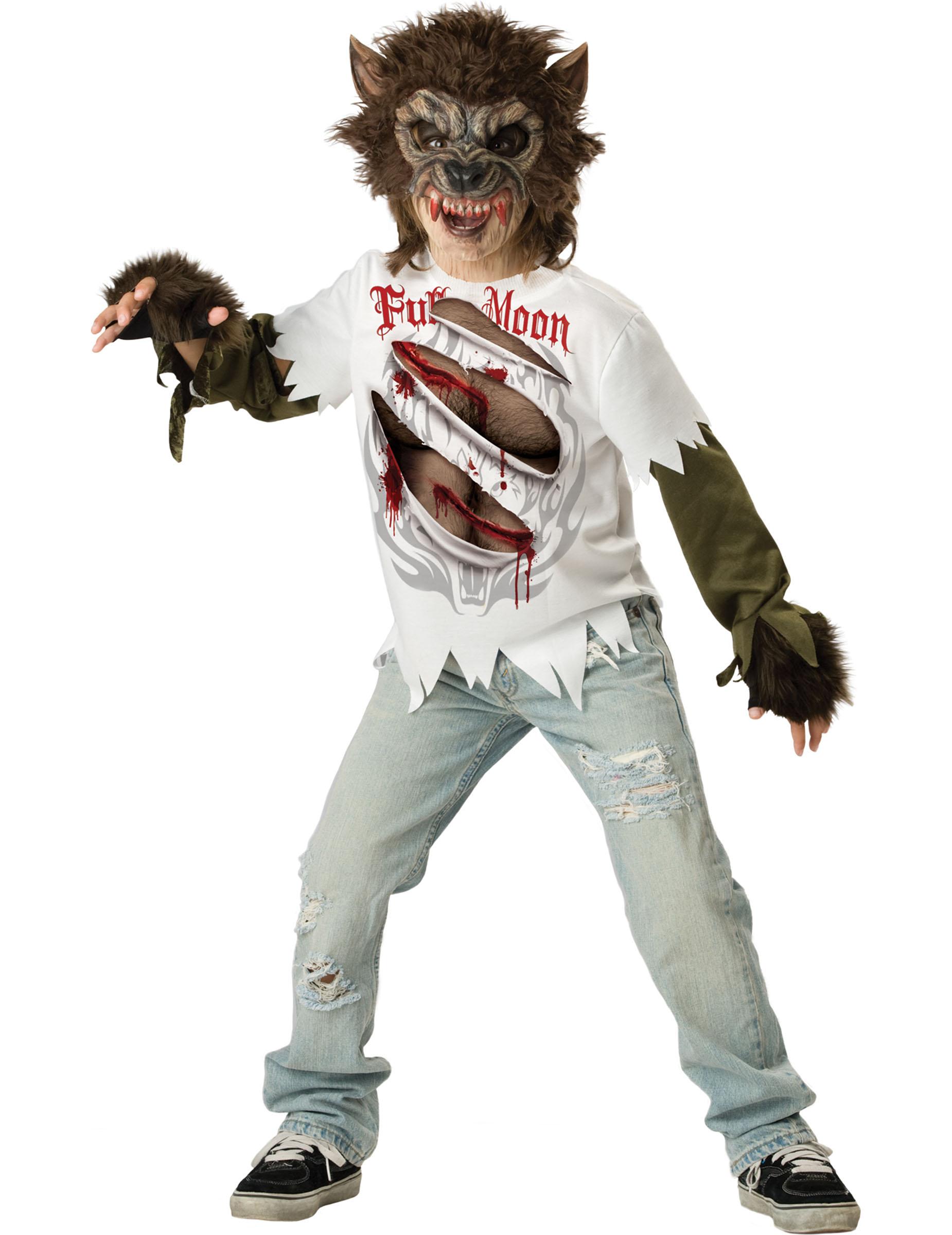 disfraces para ninos hombre lobo