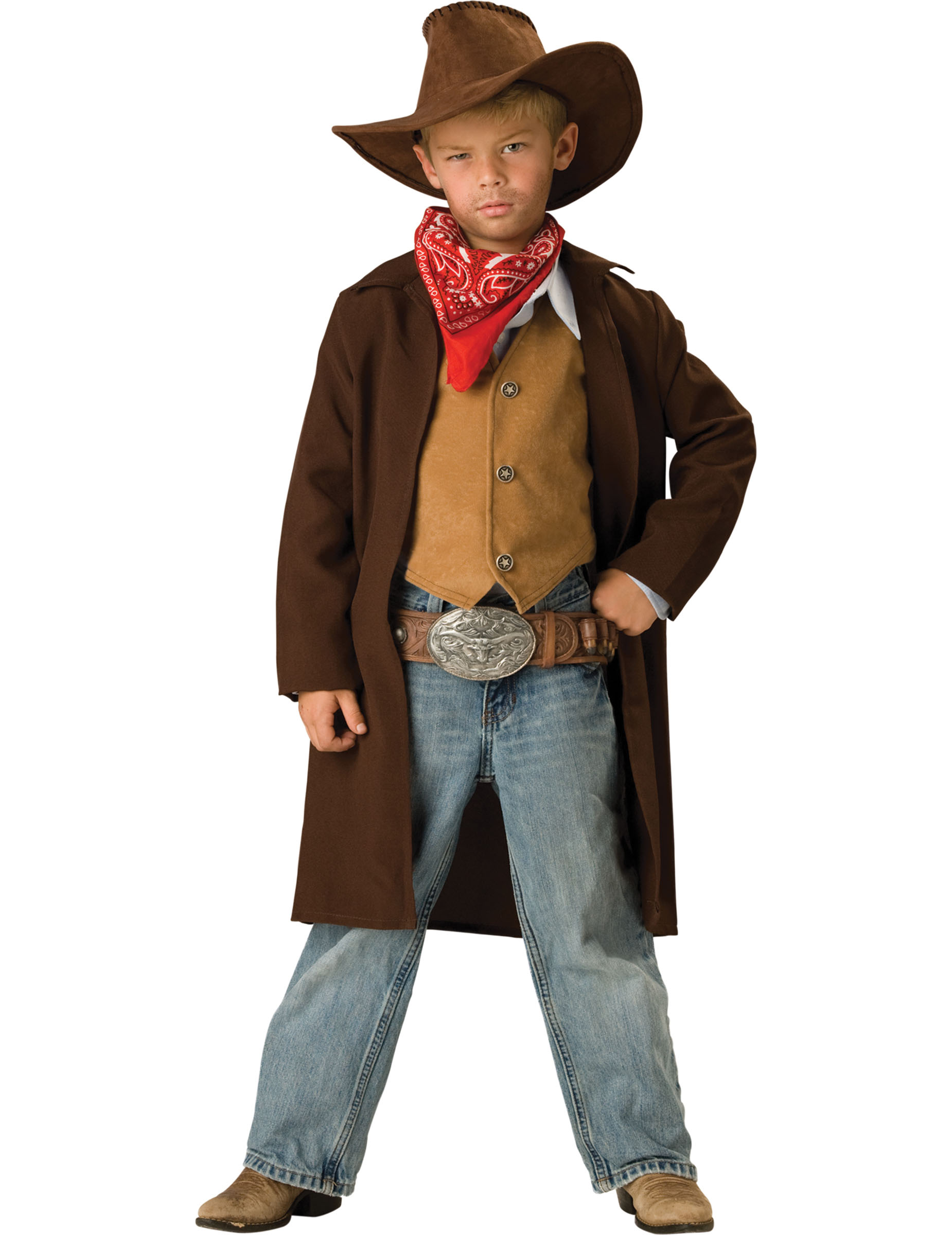 Disfraz Vaquero para niño -Premium 175d5ee58a7