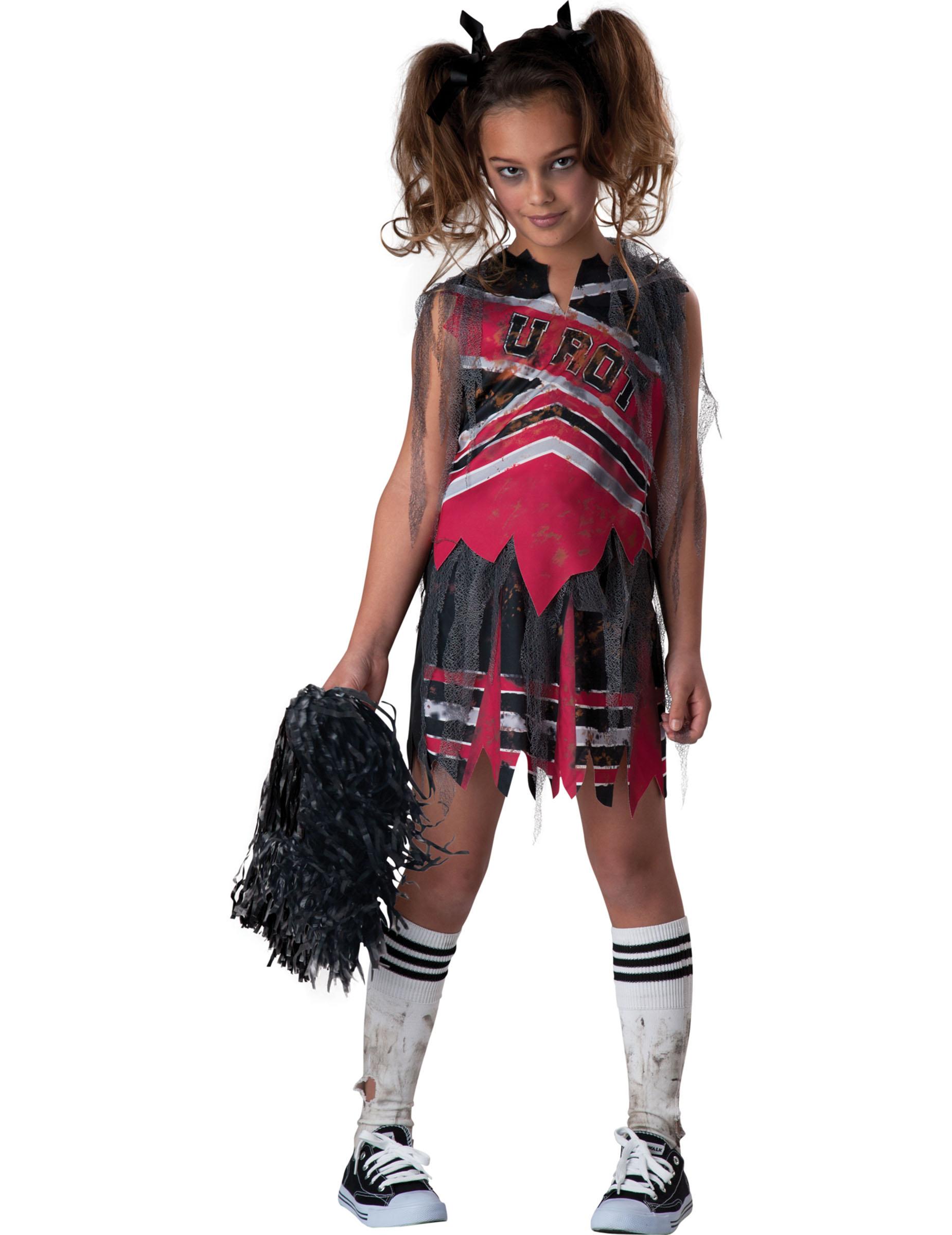 Disfraz animadora zombie nia Premium Disfraces niosy disfraces