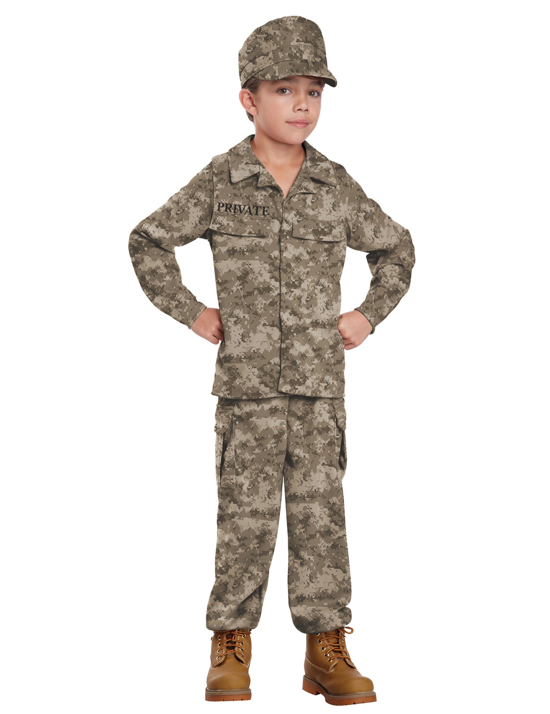 Disfraz soldado para ni o disfraces ni os y disfraces - Disfraz de angel para nino ...