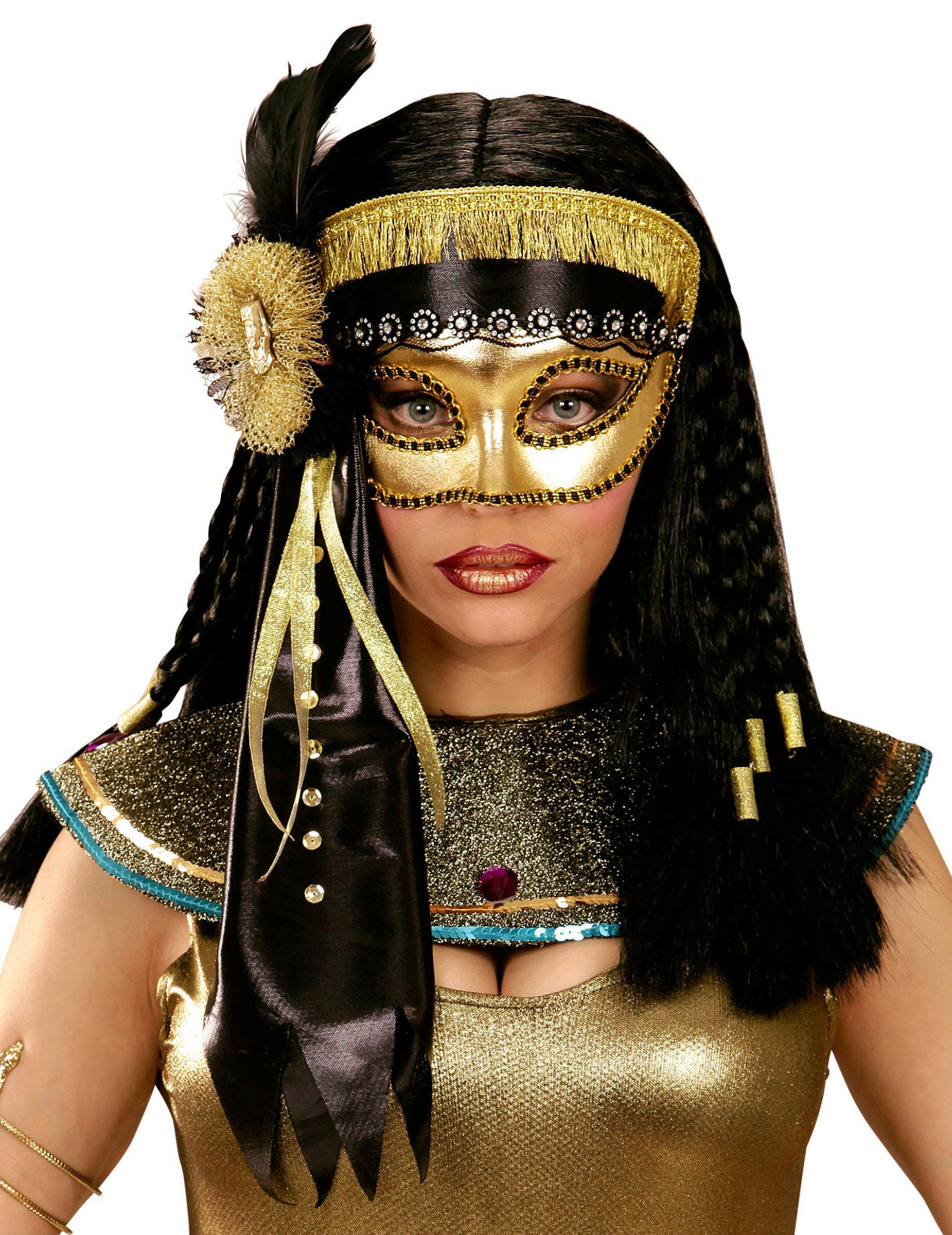 antifaz egipcia mujer m scaras y disfraces originales