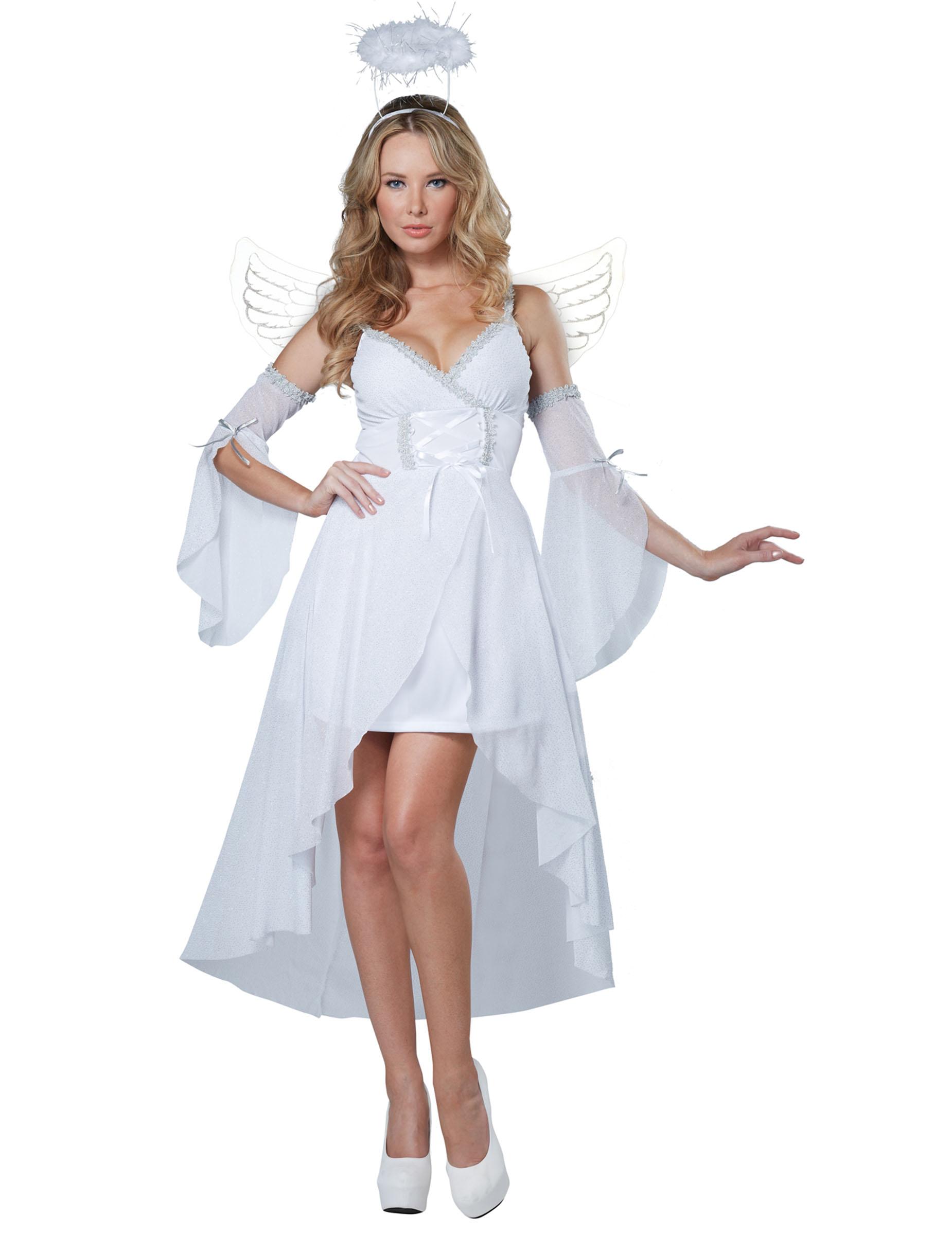 Disfraz Ángel del Cielo para mujer