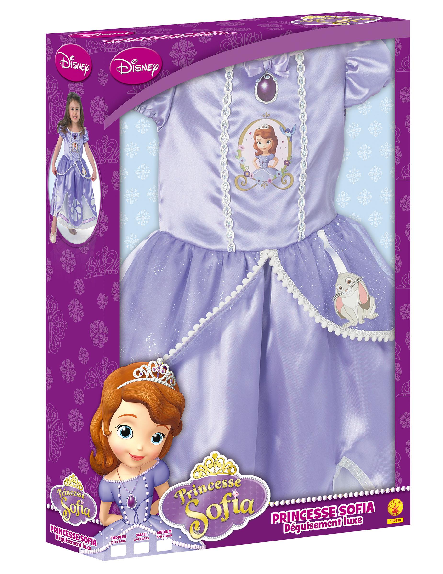 Disfraz lujo princesa Sofía™ niña caja  Disfraces niños ef4b96021b2