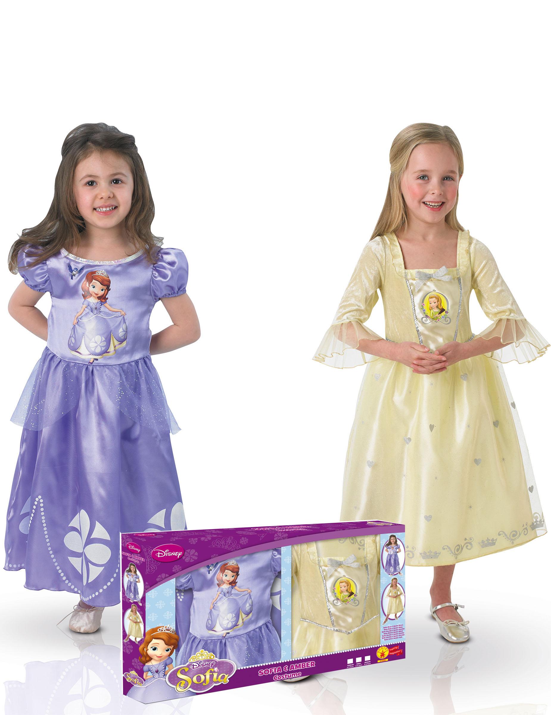 pack disfraces clsicos princesa sofa y amber caja