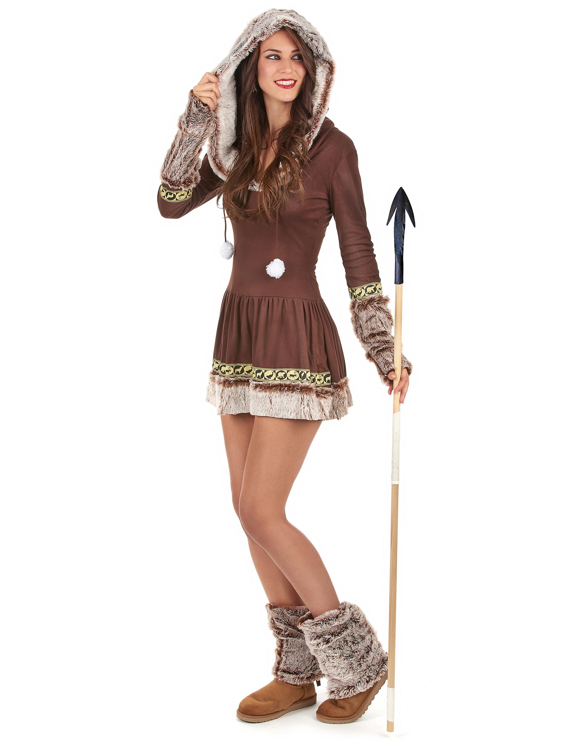 Disfraz Esquimal sexy para mujer: Disfraces adultos,y