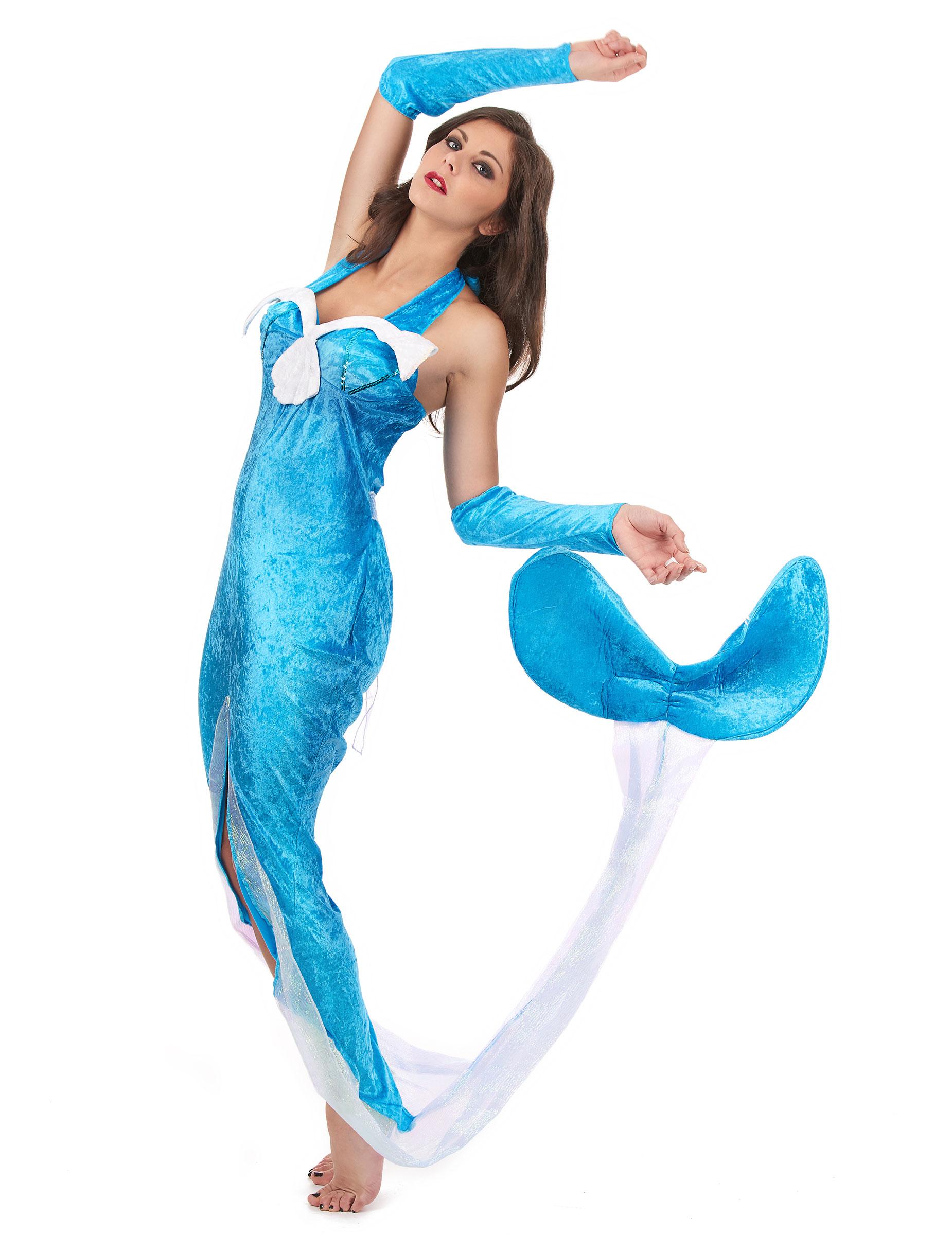 disfraz de sirena del mar azul mujer disfraces adultos y disfraces originales baratos vegaoo. Black Bedroom Furniture Sets. Home Design Ideas