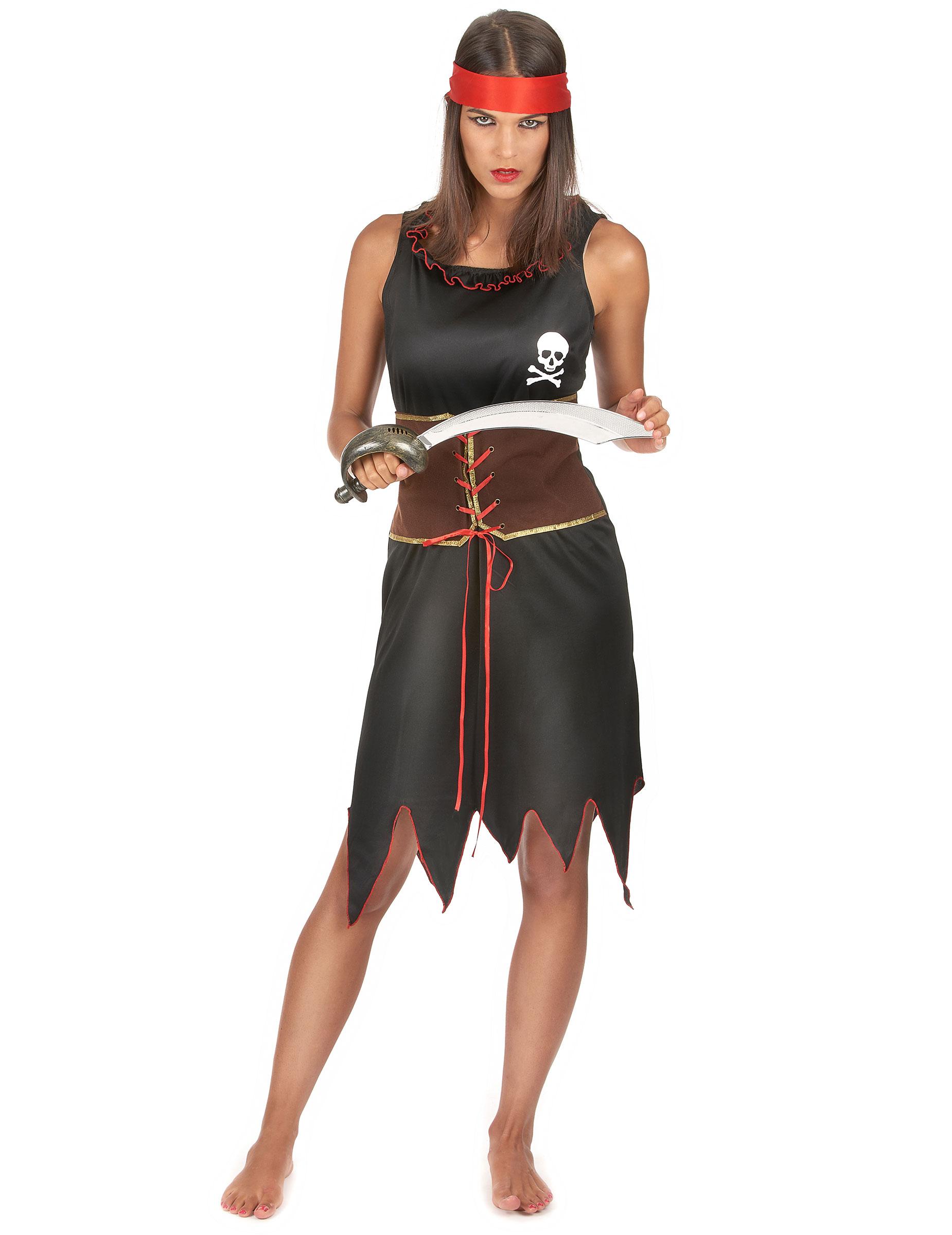 Disfraz pirata mujer disfraces adultos y disfraces - Disfraces caseros adulto ...